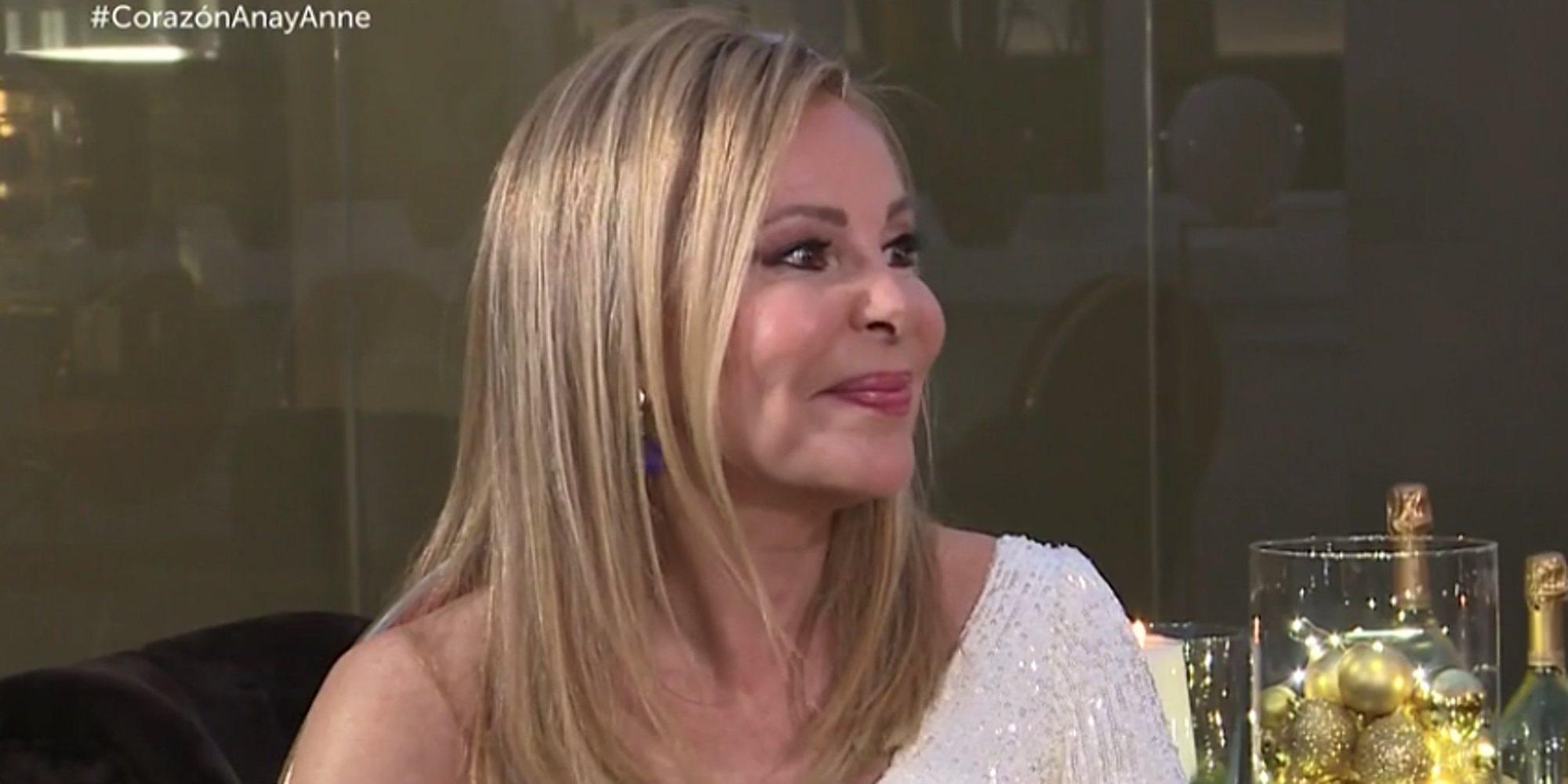 """Ana Obregón reaparece en televisión: """"Me veo viviendo una nueva vida, porque ya nunca seré la misma"""""""