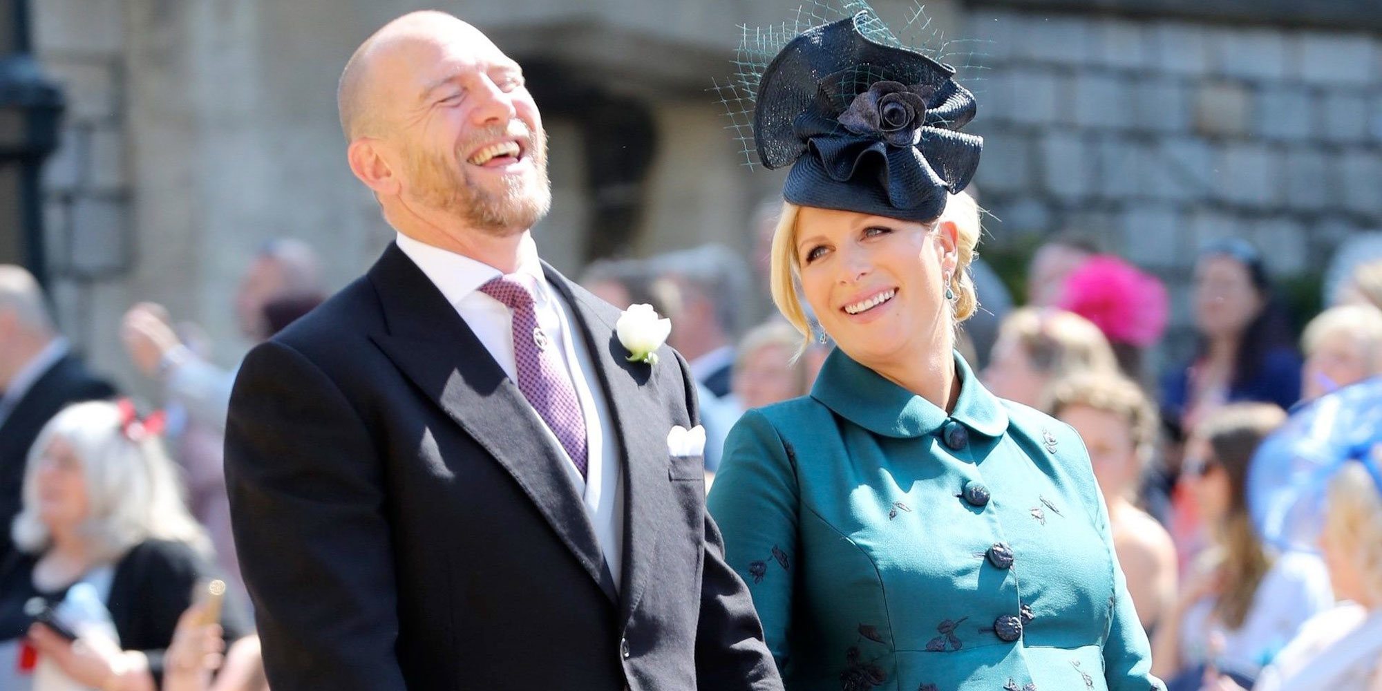 Zara Phillips y Mike Tindall esperan su tercer hijo