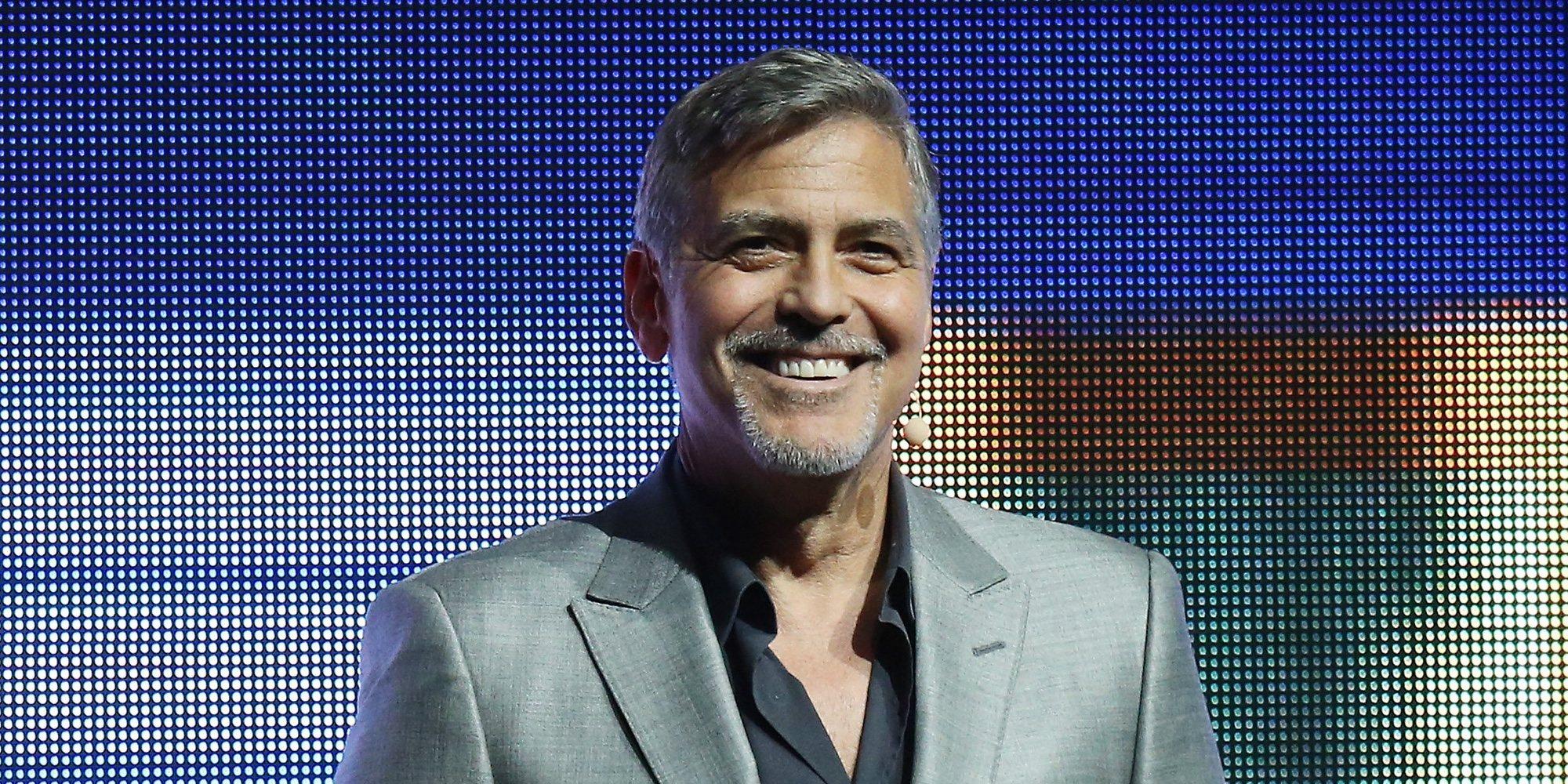 George Clooney acabó en el hospital tras adelgazar 12 kilos para una película