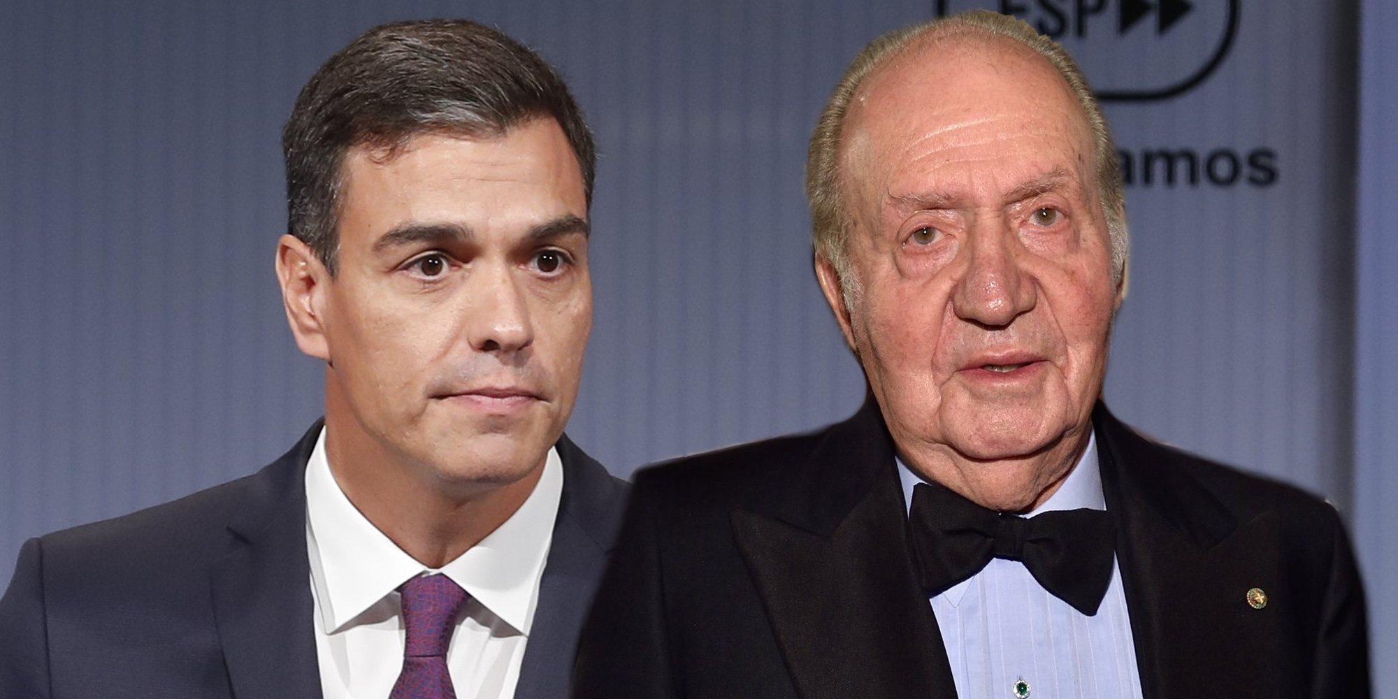 """Pedro Sánchez se pronuncia sobre la última actuación del Rey Juan Carlos: """"Se juzgan personas, no instituciones"""""""