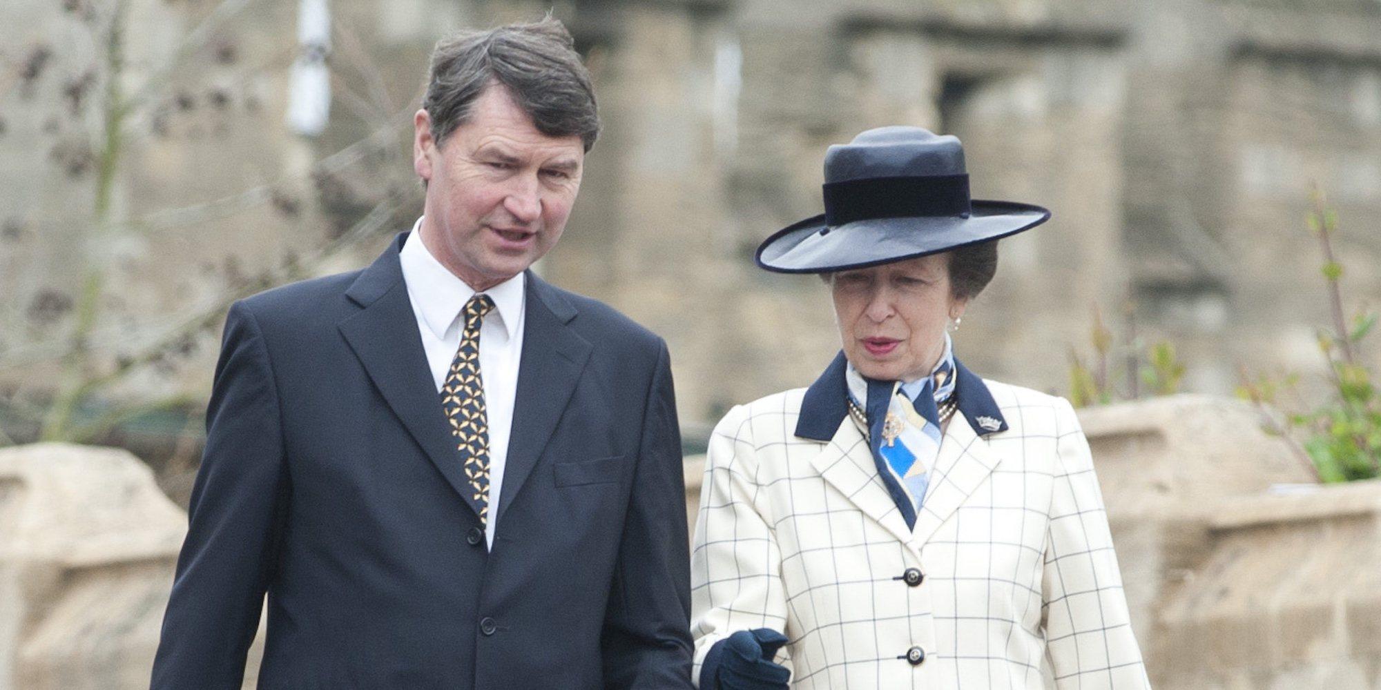Así es la sencilla felicitación de Navidad de la Princesa Ana y Sir Timothy Laurence