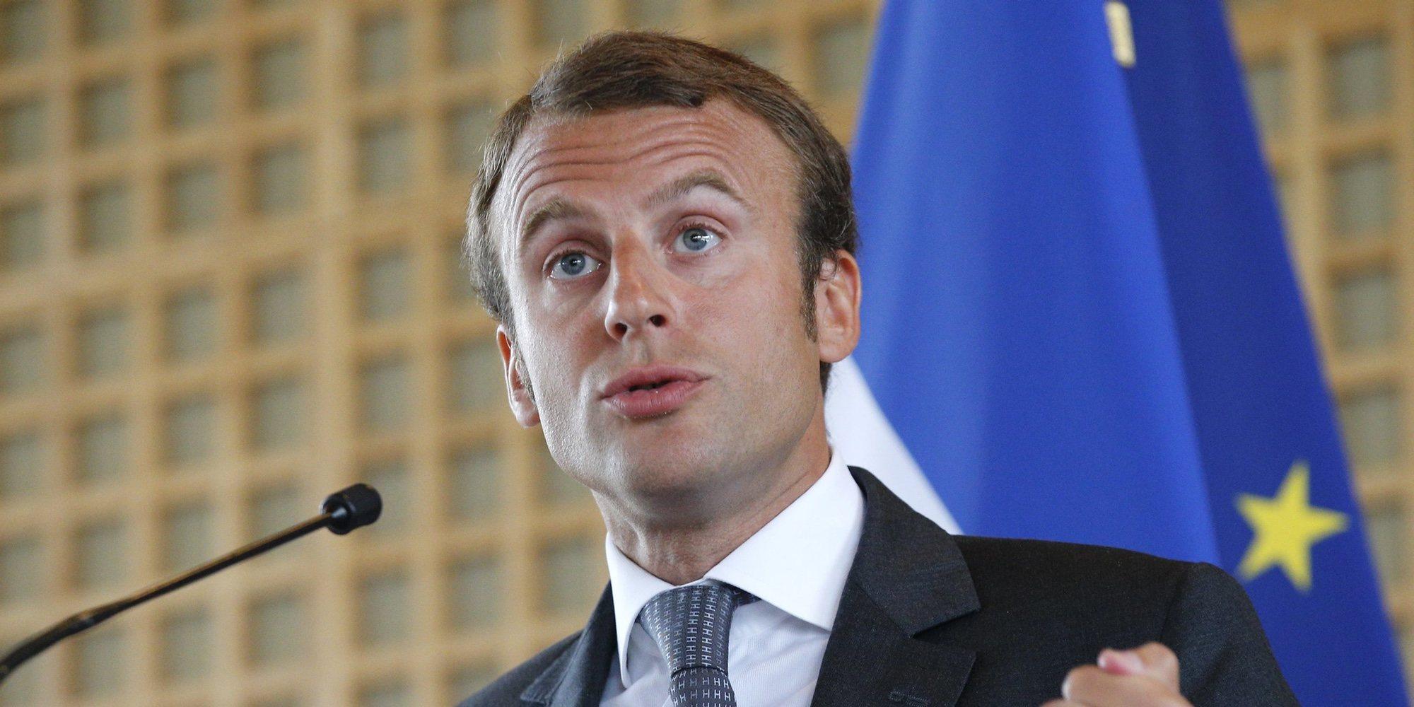 El Presidente de Francia Emmanuel Macron, positivo en coronavirus