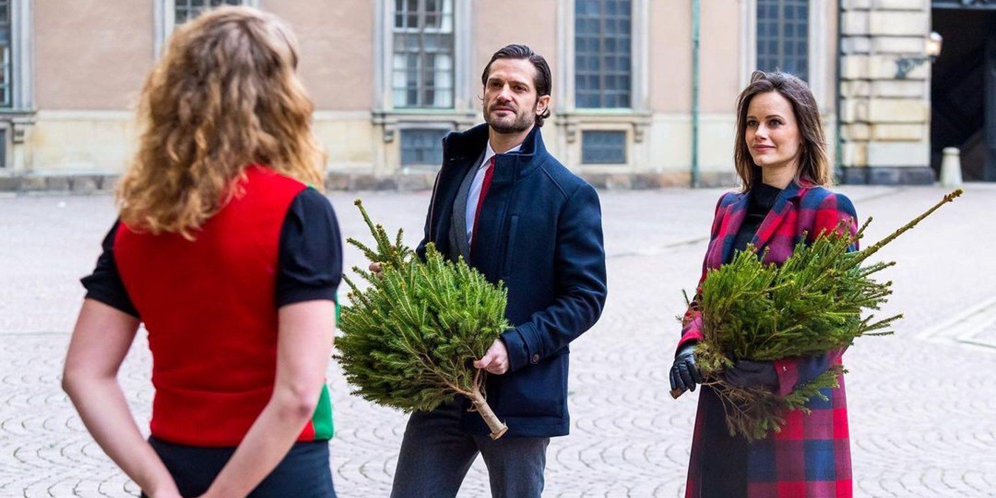 Primer acto de Carlos Felipe y Sofia de Suecia tras anunciar que esperan su tercer hijo y superar el coronavirus