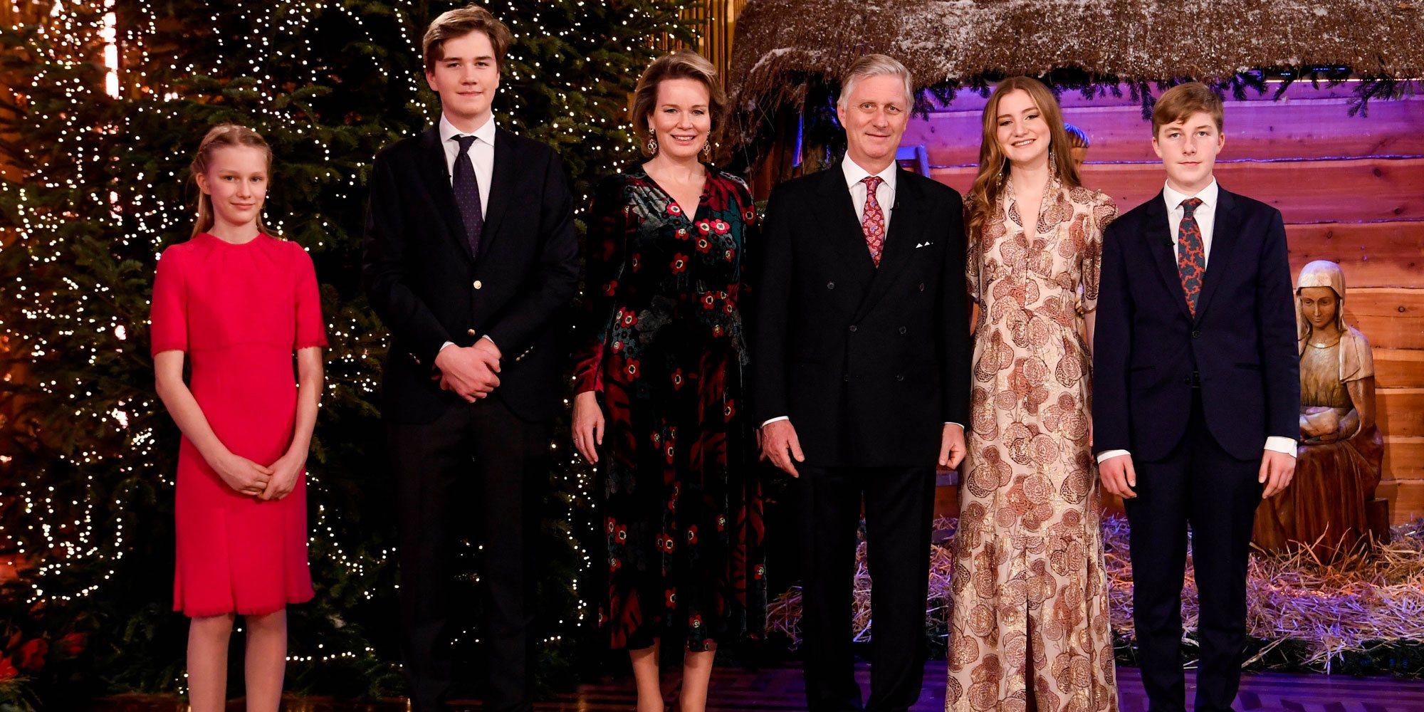 Las dos sorpresas de la Familia Real Belga en el concierto de Navidad 2020