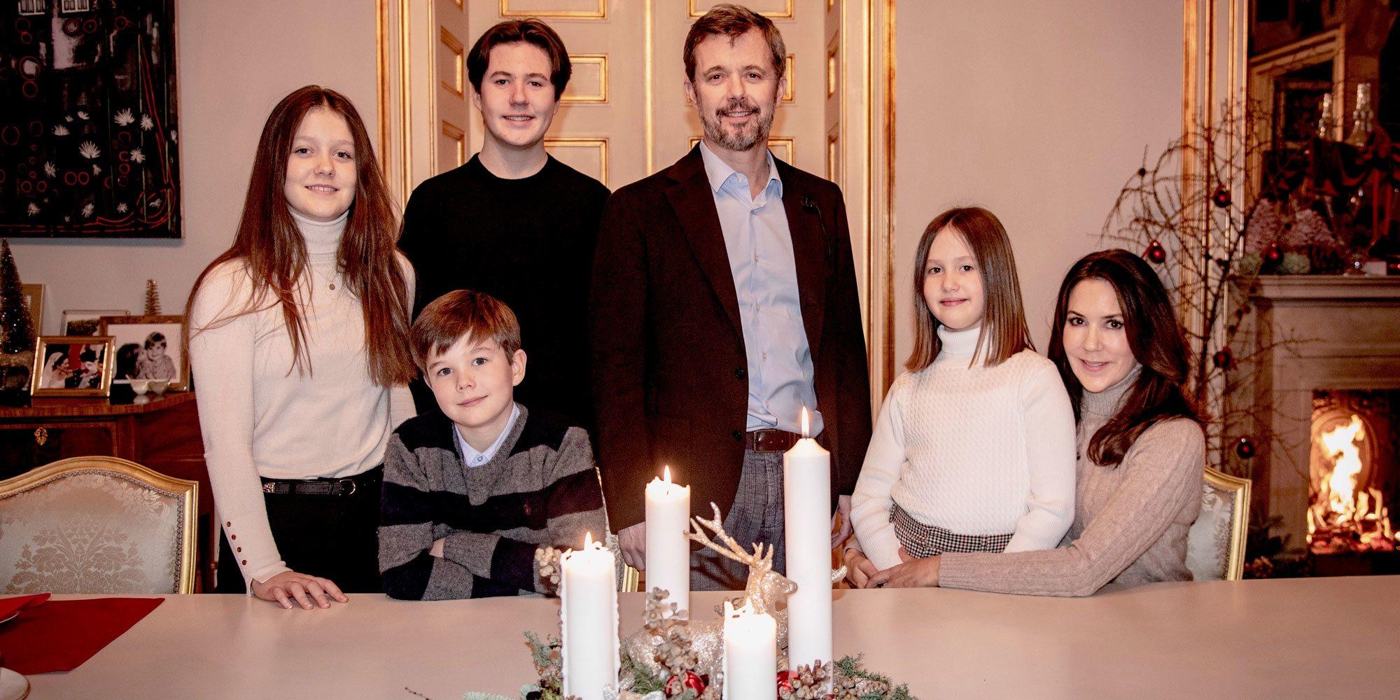 La reaparición navideña y en familia de Christian de Dinamarca tras superar el coronavirus