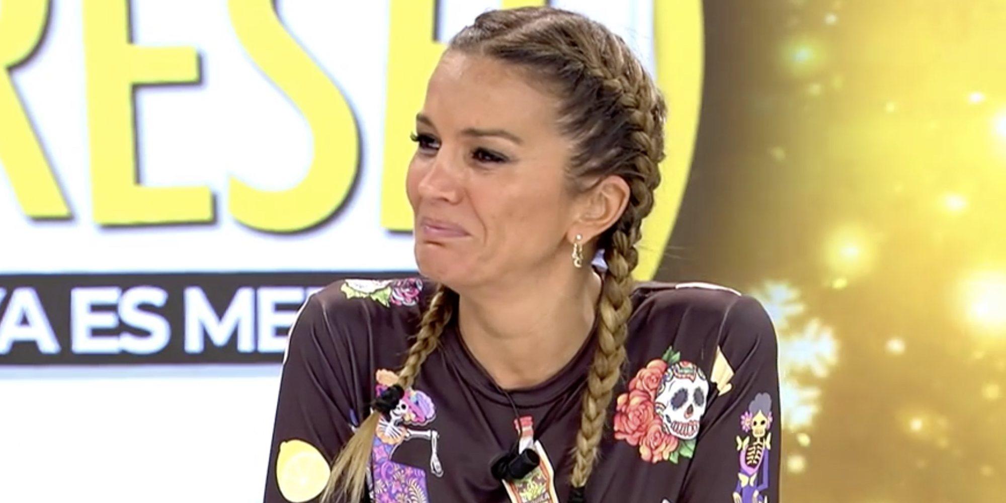 """Marta López rompe a llorar en directo por el polígrafo de Efrén Reyero: """"Yo soy gilipollas"""""""