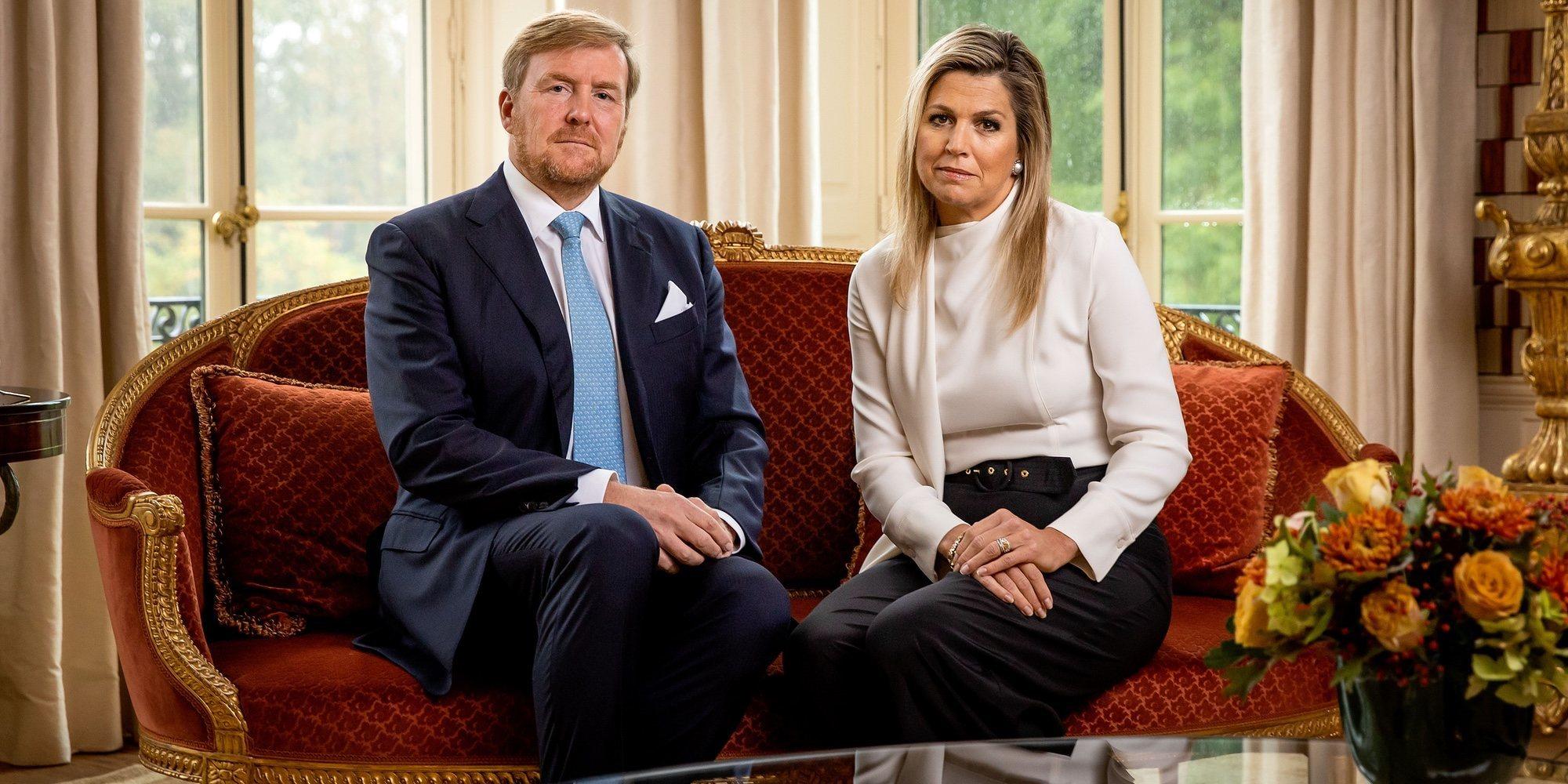 Problemas para Guillermo Alejandro y Máxima de Holanda: cae su popularidad tras los errores cometidos durante la pandemia