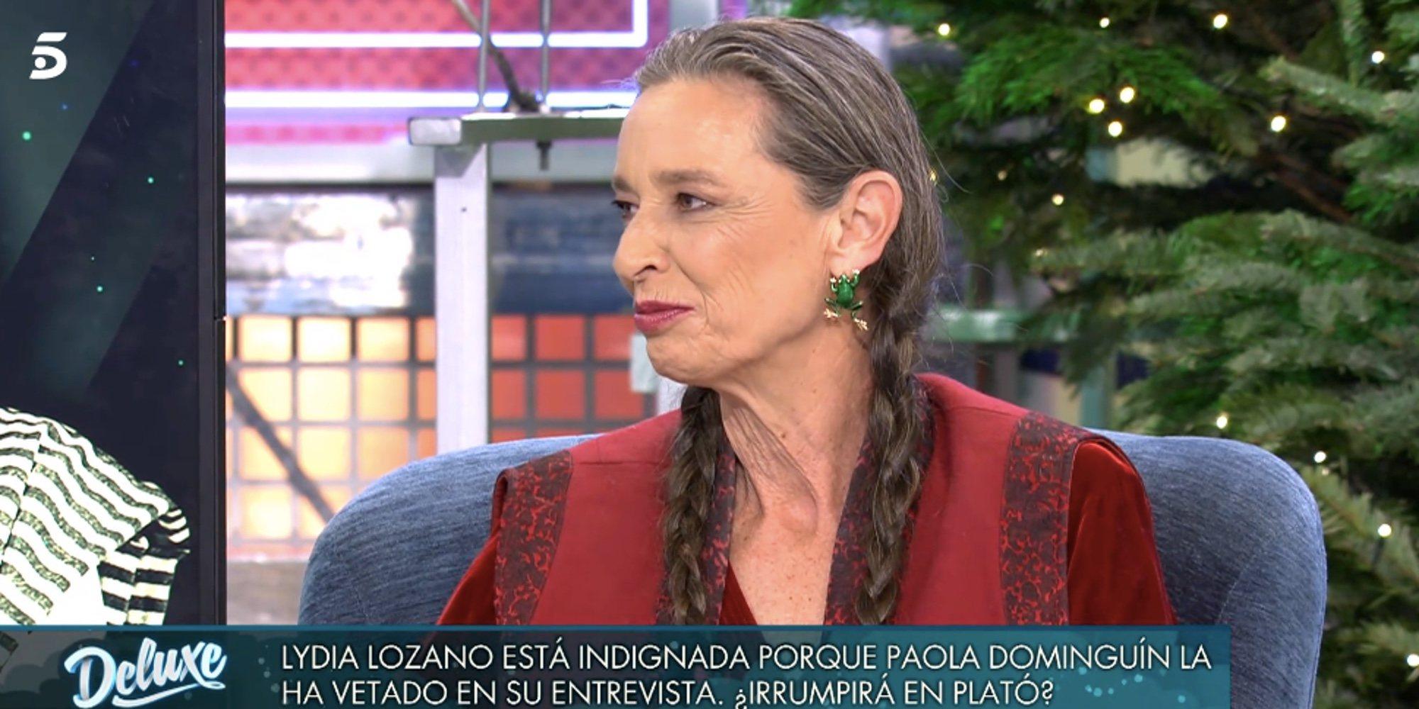 Paola Dominguín revela que José Coronado le confesó estar enamorado de Isabel Pantoja