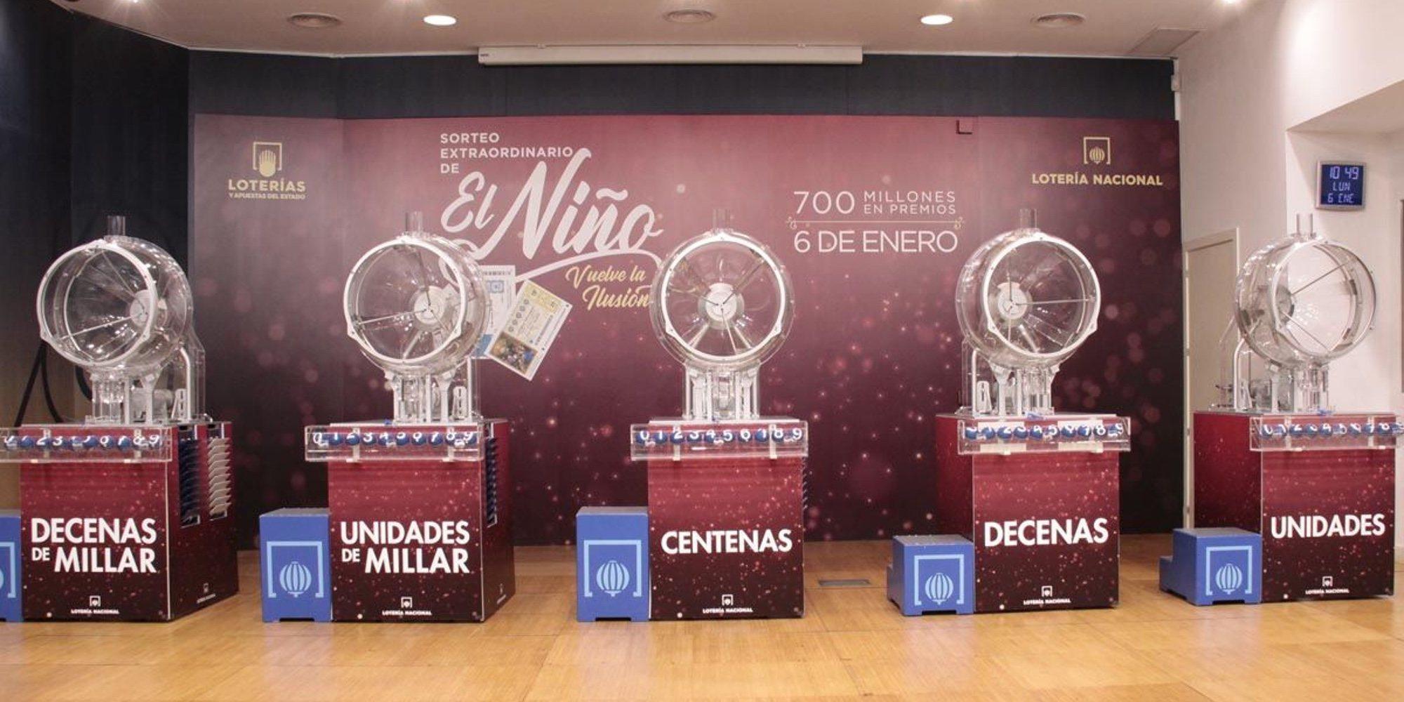 Todos los números premiados de la Lotería de El Niño 2021: El primer premio ha sido para el 19570