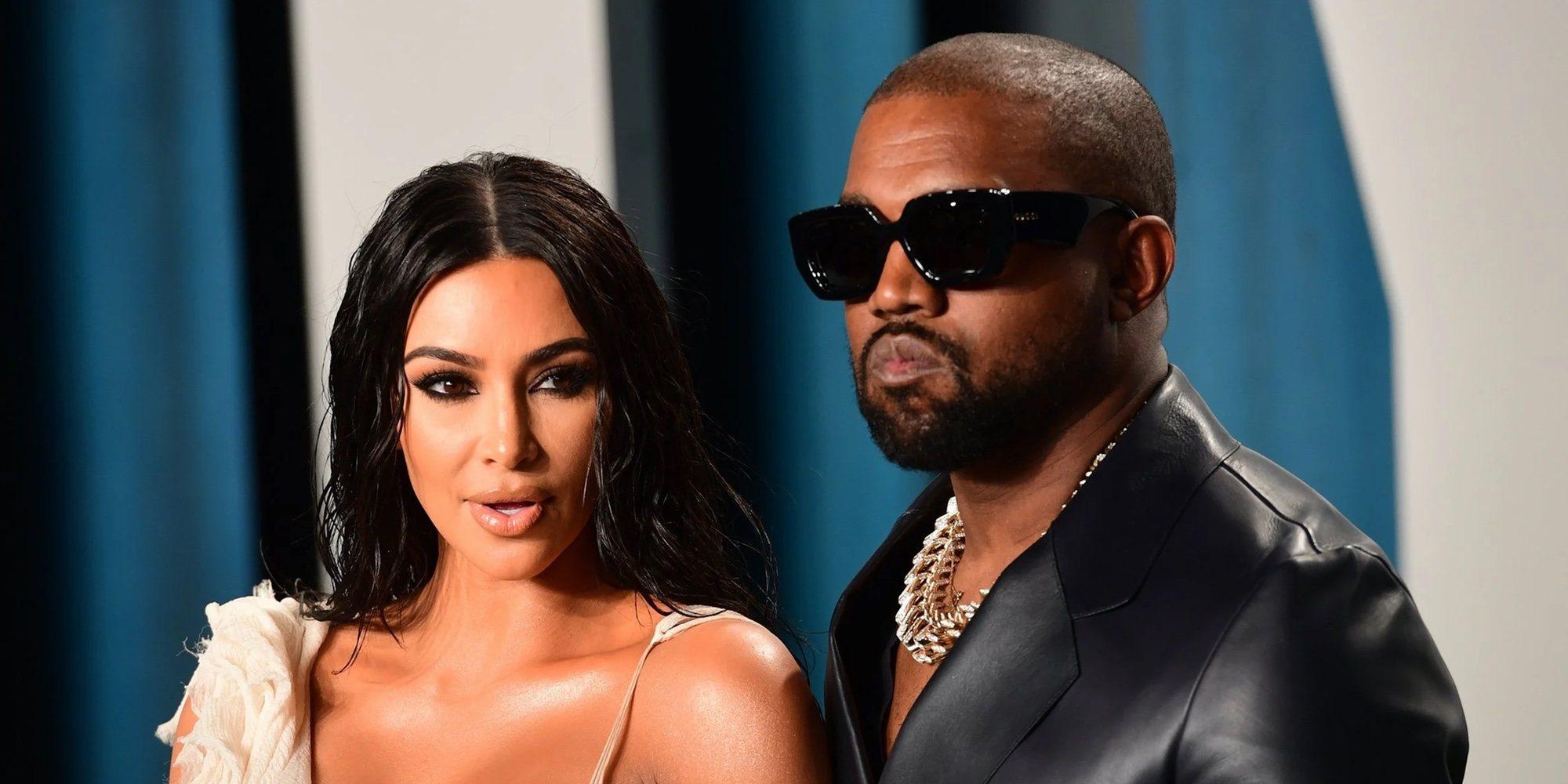 """Kim Kardashian pide el divorcio a Kanye West: """"Para ella todo ha terminado y sucederá lo inevitable"""""""
