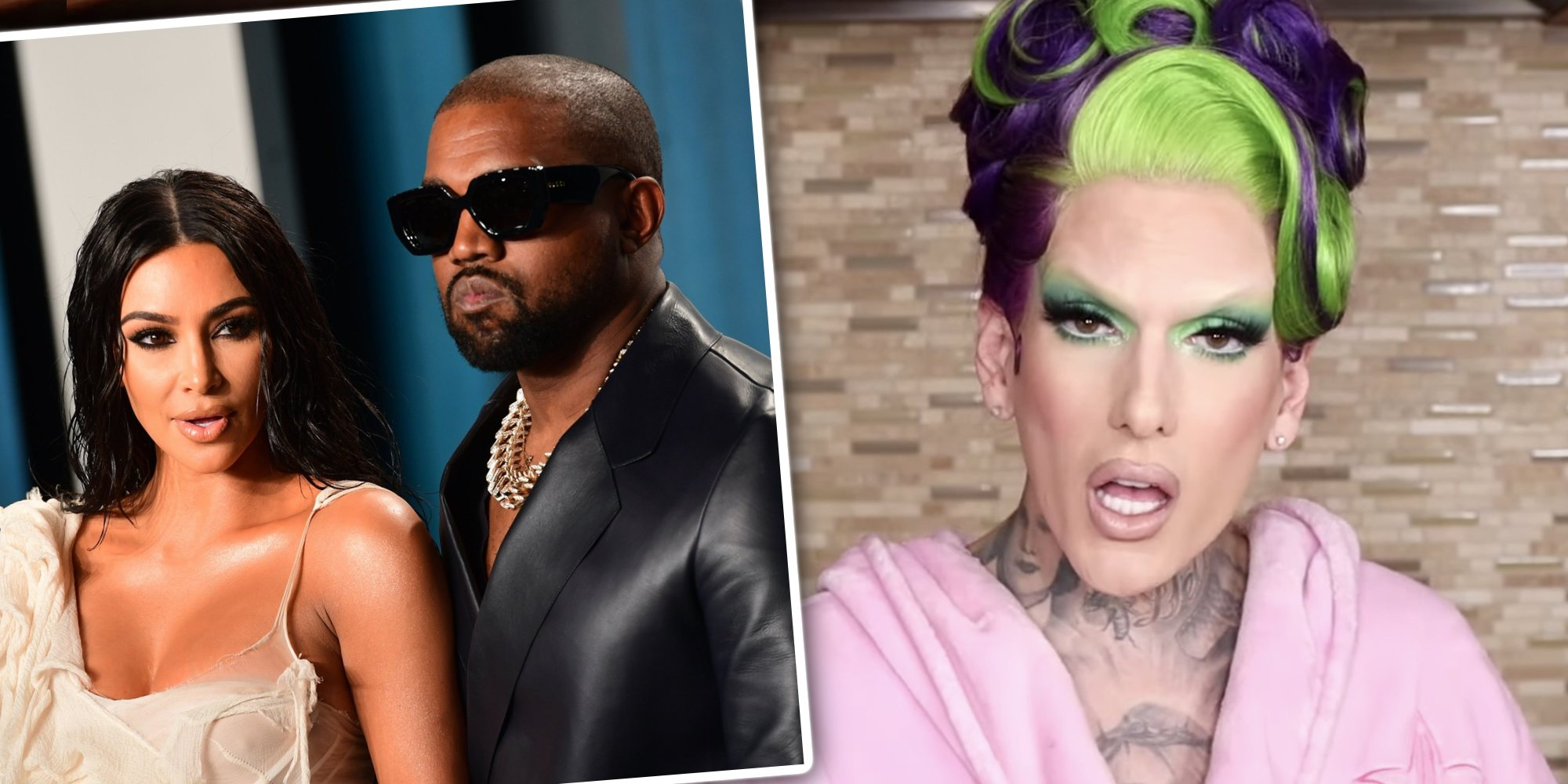 Jeffree Star niega ser la causa del divorcio de Kim Kardashian y Kanye West