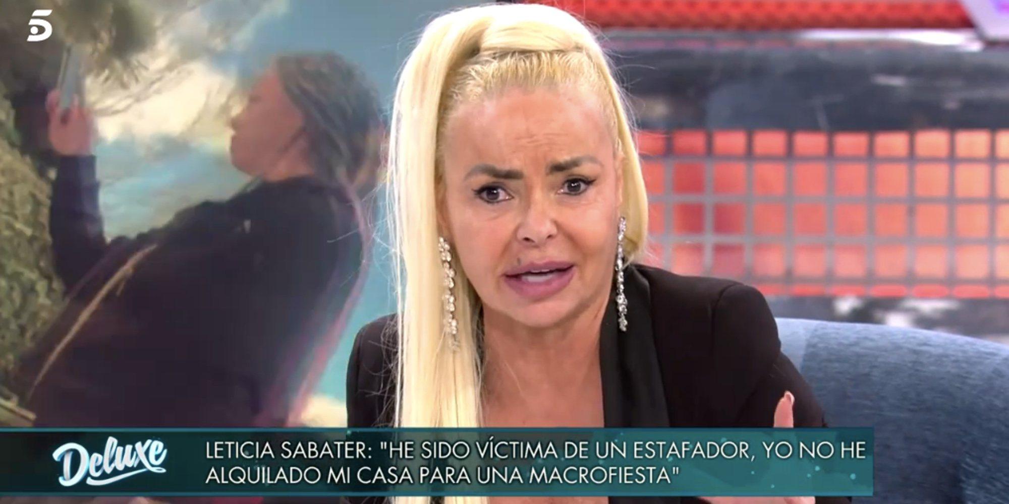 Leticia Sabater reaparece tras la fiesta ilegal en su casa y asegura que ha puesto varias demandas