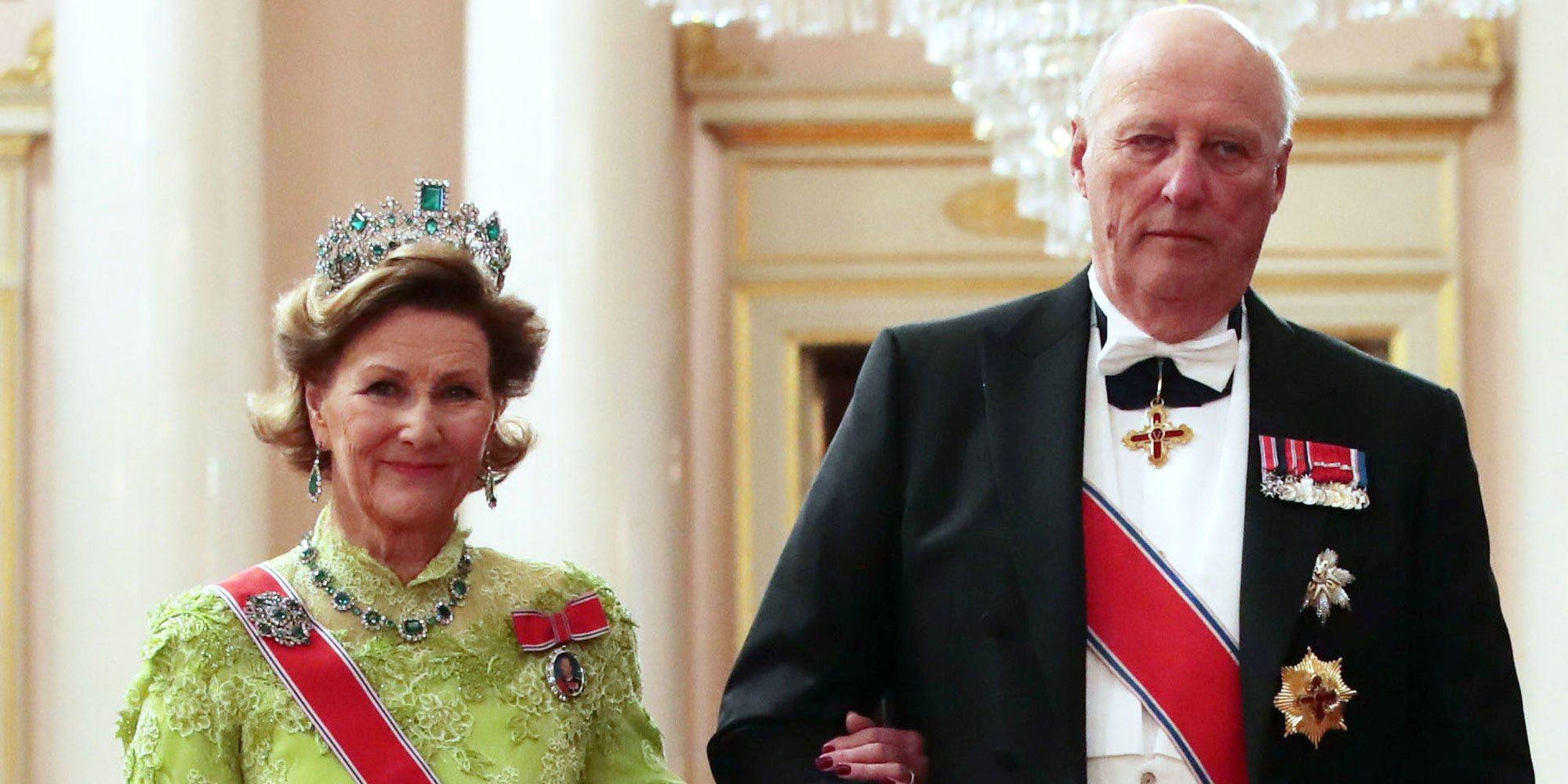 Harald y Sonia de Noruega se unen a los royals vacunados contra el coronavirus