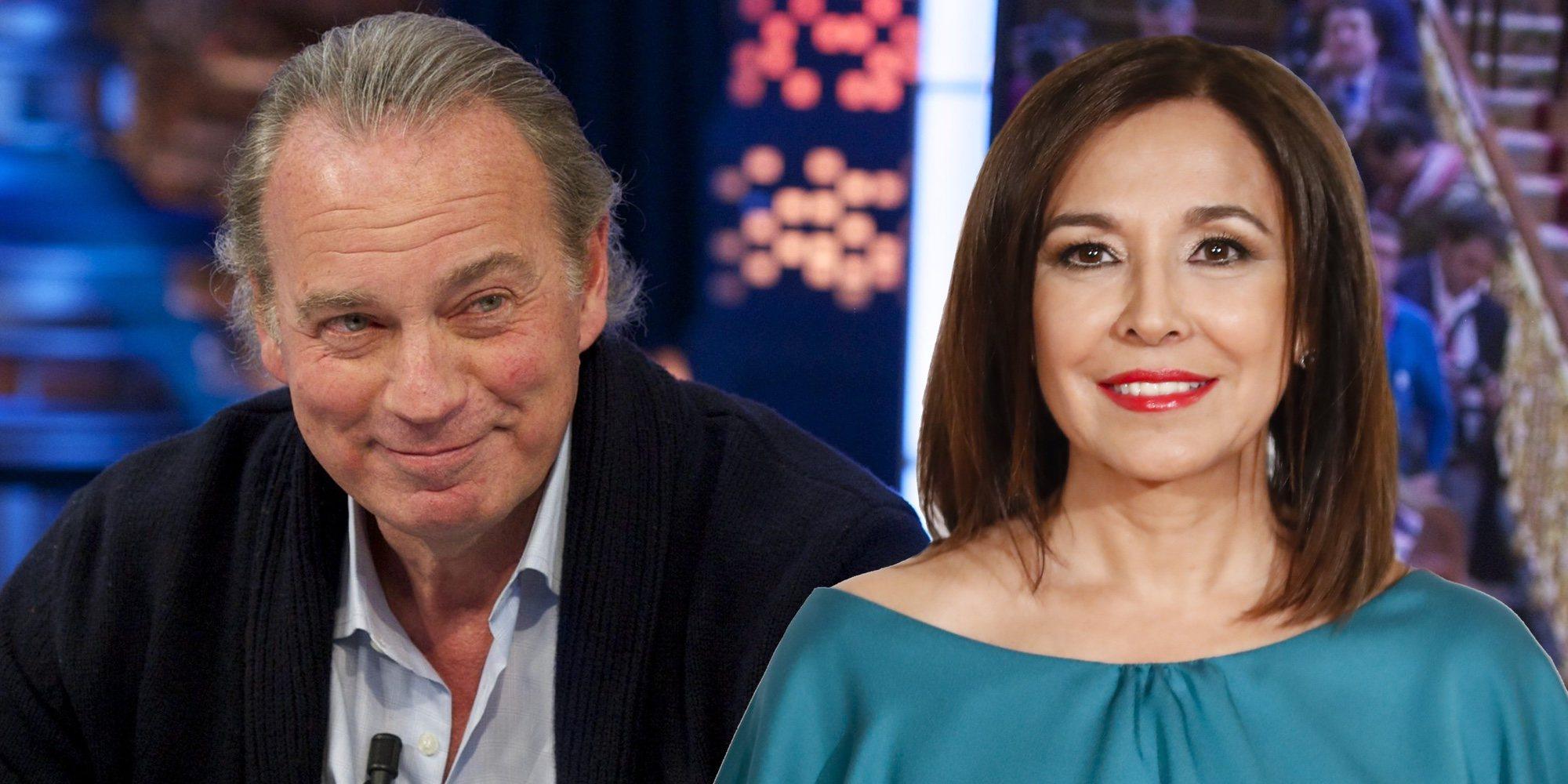 Bertín Osborne defiende a Isabel Gemio tras su polémica entrevista a María Teresa Campos