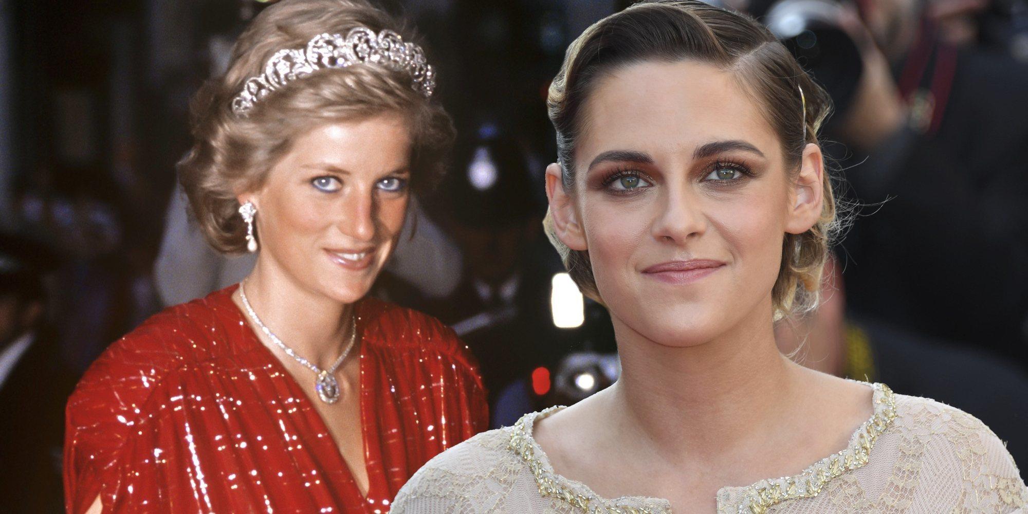 El increíble parecido de Kristen Stewart con Lady Di caracterizada para la película 'Spencer'