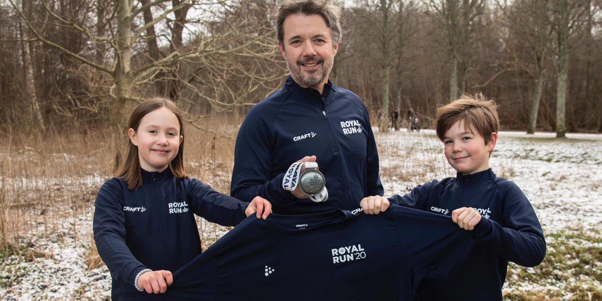 Federico de Dinamarca y sus hijos Vicente y Josefina: pasión por el deporte y una mala noticia