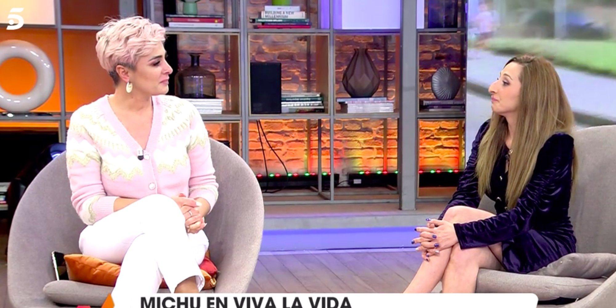 """Michu agradece públicamente a Ana María Aldón todo lo que hace por ella y su hija: """"Eres muy generosa"""""""