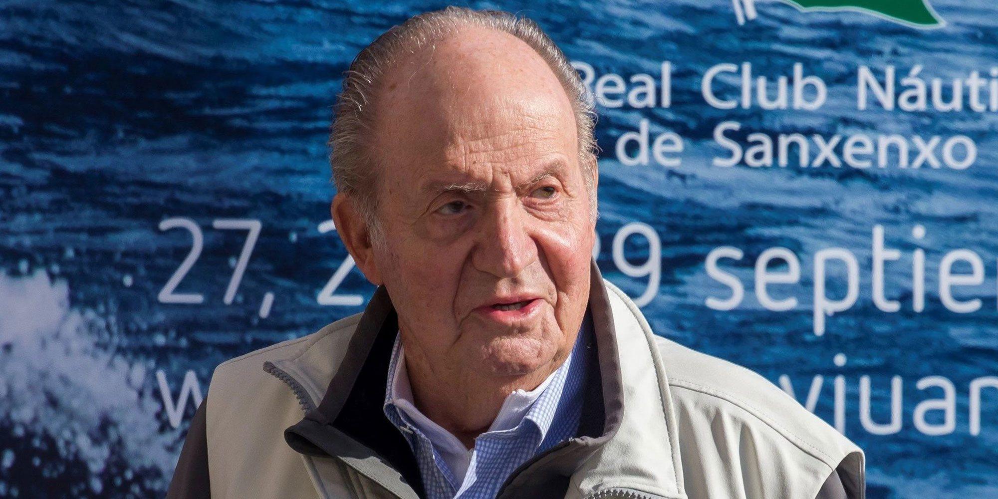 El Rey Juan Carlos asegura estar bien de salud y habla de su rutina deportiva
