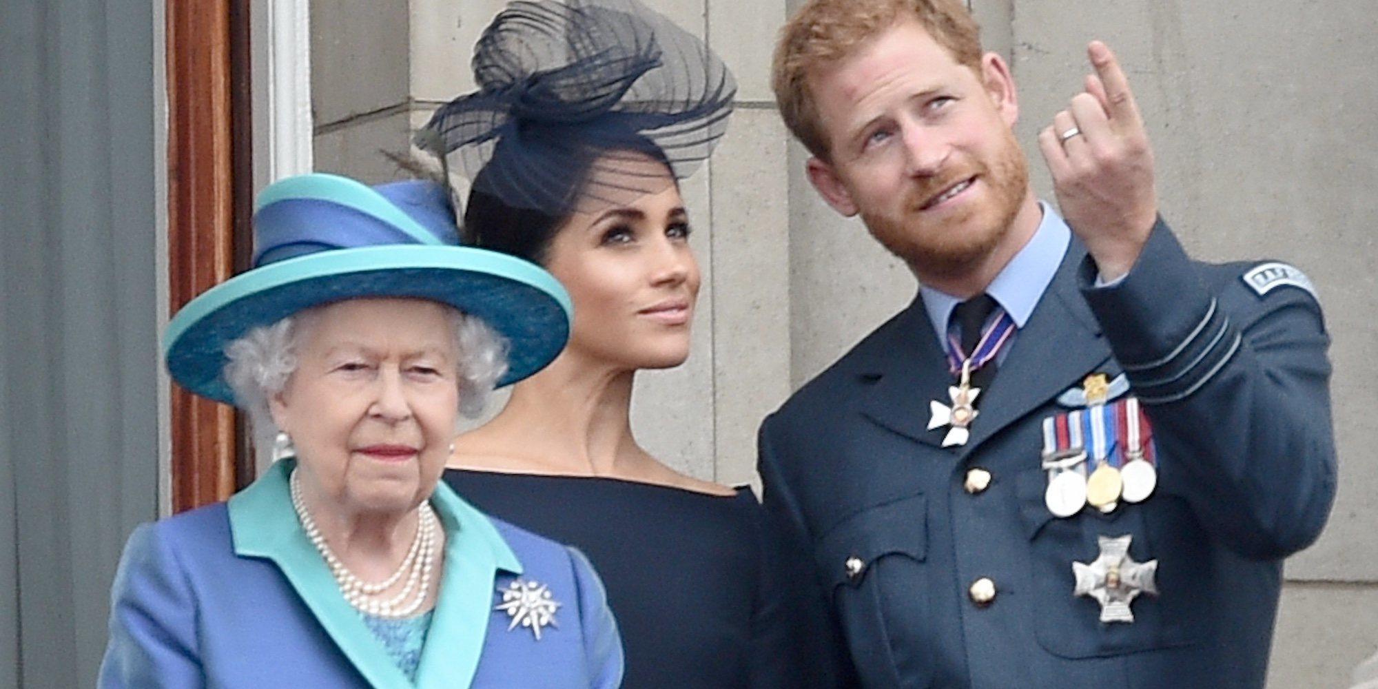 La reacción de Buckingham Palace al anuncio de la entrevista de Harry y Meghan a Oprah Winfrey