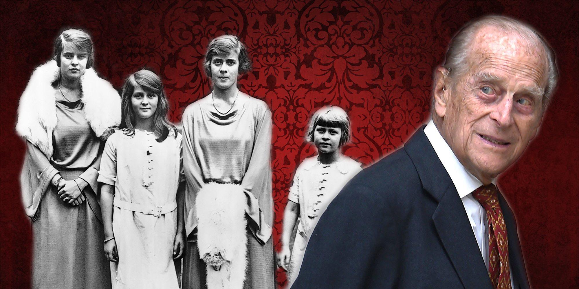 Las hermanas del Duque de Edimburgo: tragedias, accidentes y vínculos con el nazismo