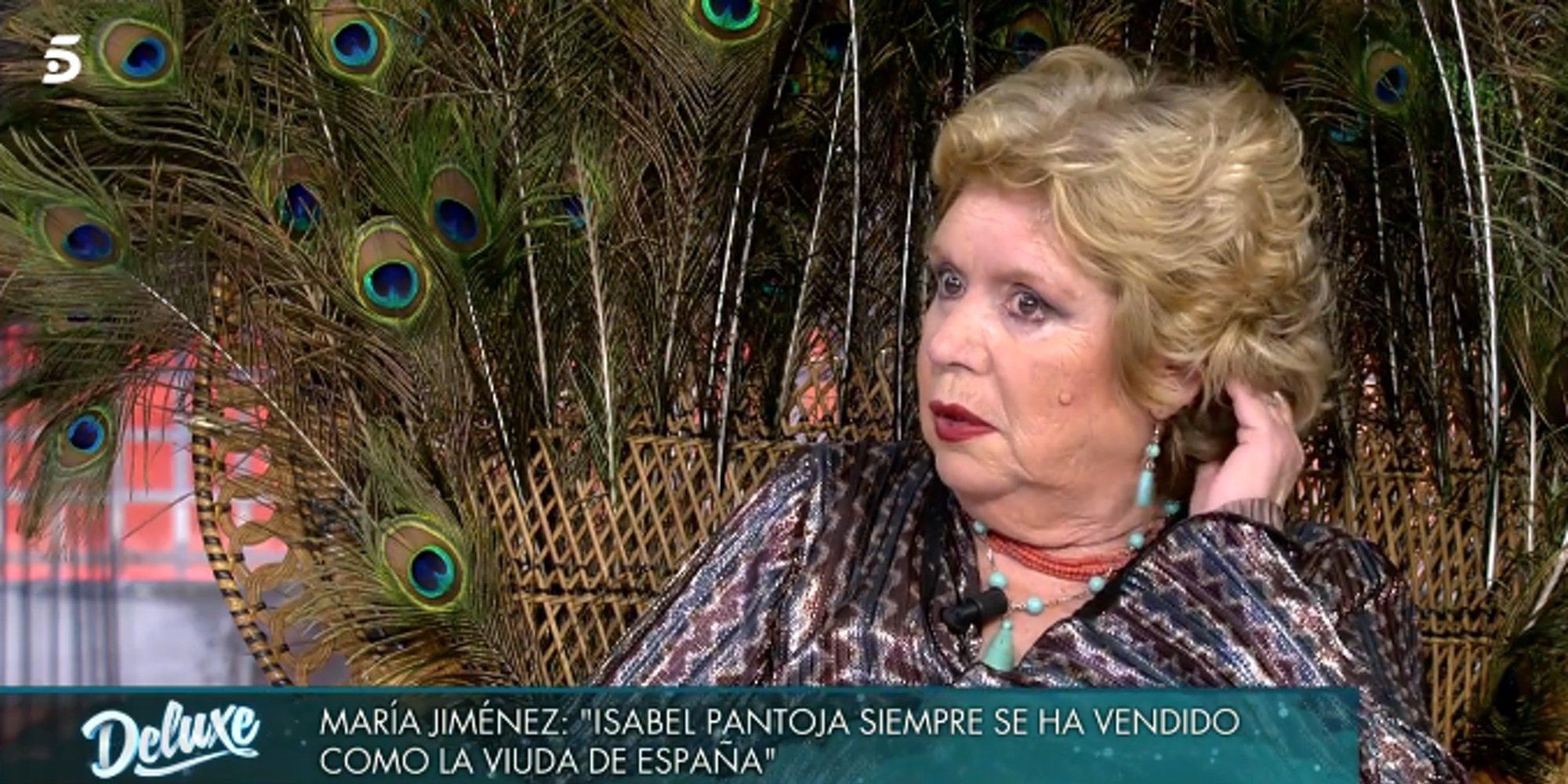 La confesión de María Jiménez sobre en qué punto estaba el matrimonio de Isabel Pantoja y Paquirri