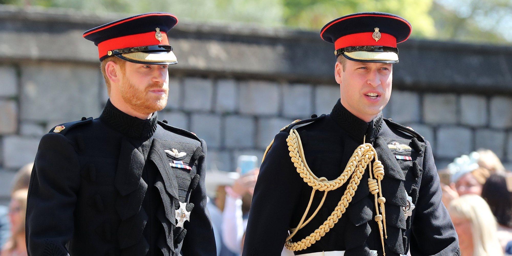 El Príncipe Guillermo, enfadado y conmocionado por la renuncia a volver a la Casa Real del Príncipe Harry y Meghan Markle