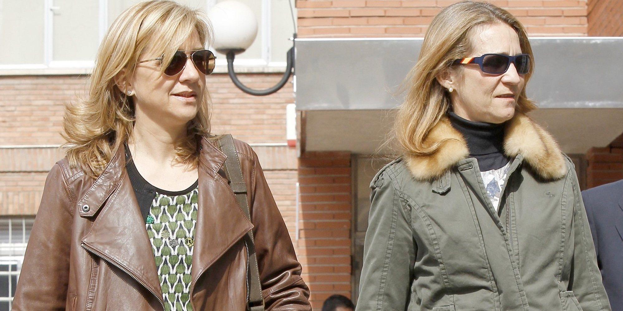 Las Infantas Elena y Cristina: la vacuna que se pusieron y el efecto adverso que sufrió el Rey Juan Carlos