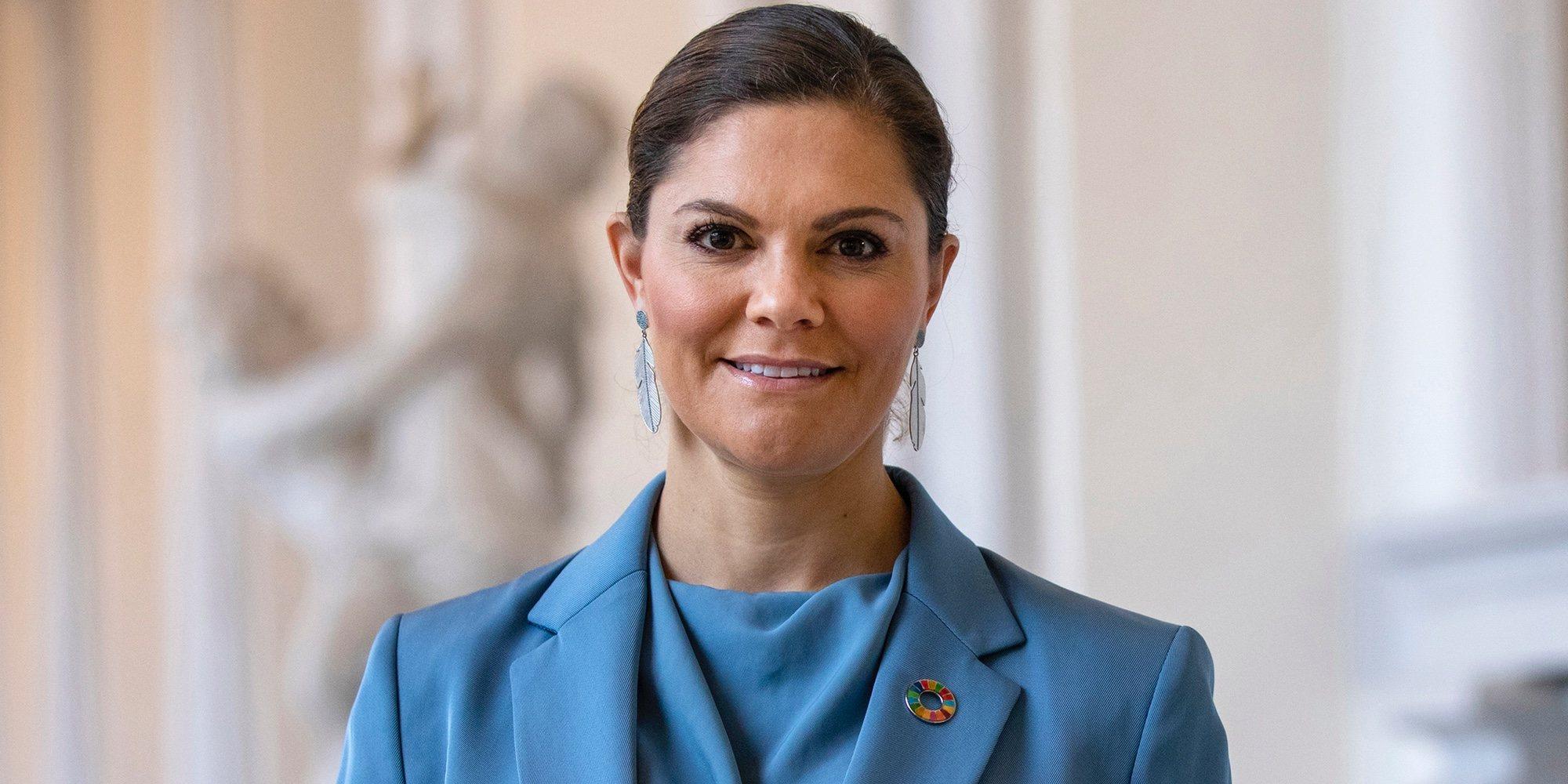 Victoria de Suecia refuerza su compromiso con el colectivo LGTBI
