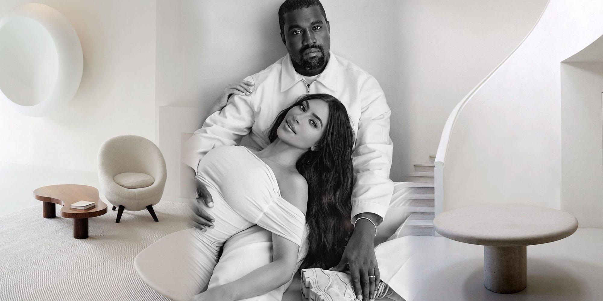 Acuerdo de divorcio de Kimye: Kim Kardashian se queda en la mansión de Los Ángeles con sus cuatro hijos