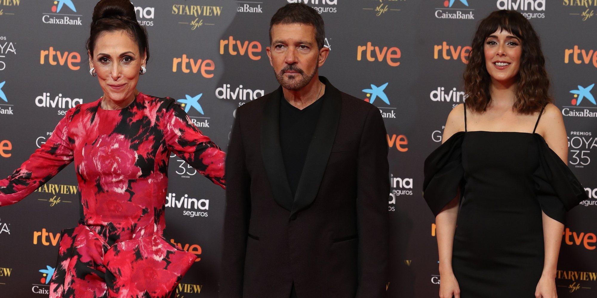 La atípica alfombra roja de los Goya 2021 con entregadores de premios pero sin nominados