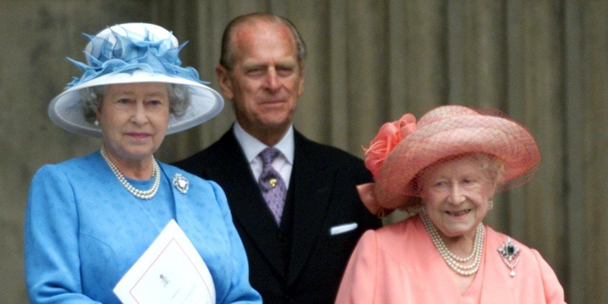 El Duque de Edimburgo y la Reina Madre: dos pilares fundamentales en la vida de la Reina Isabel