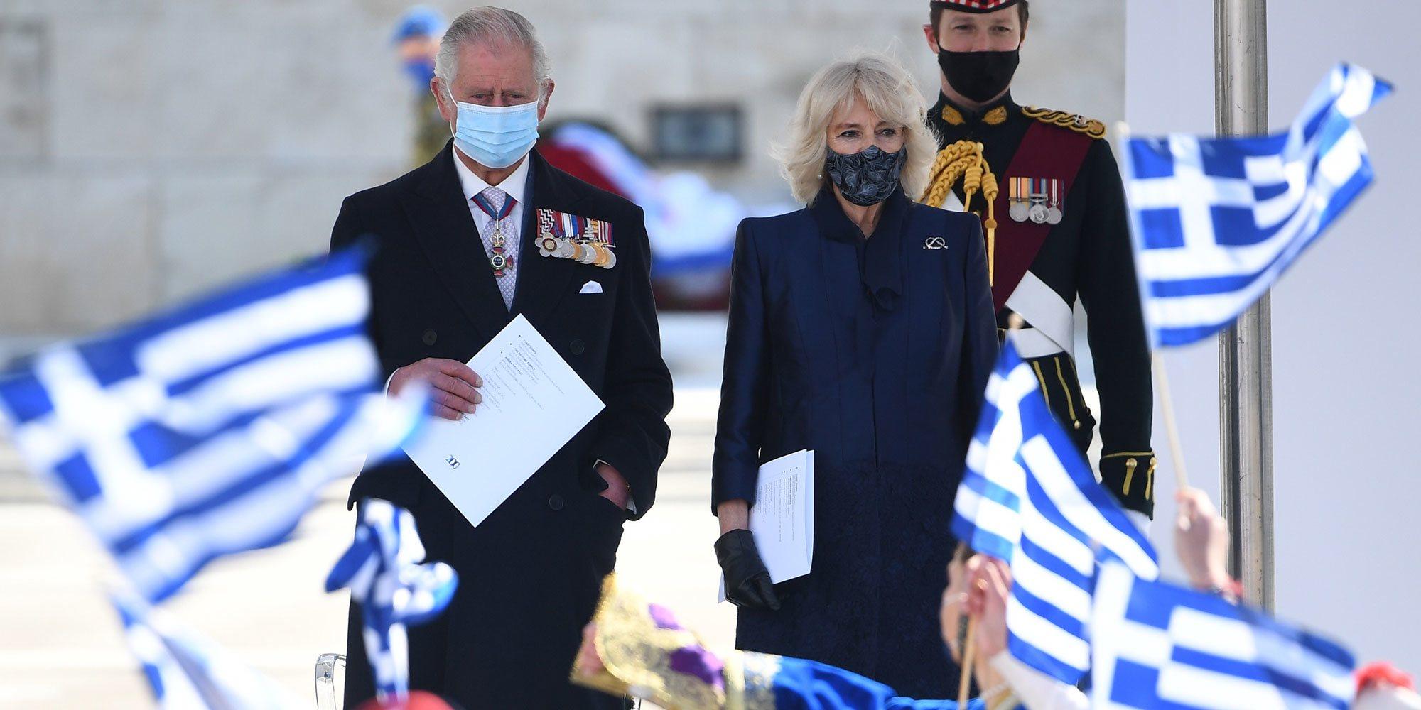 El recuerdo del Príncipe Carlos a su origen griego con mención al Duque de Edimburgo en su visita a Grecia junto a Camilla