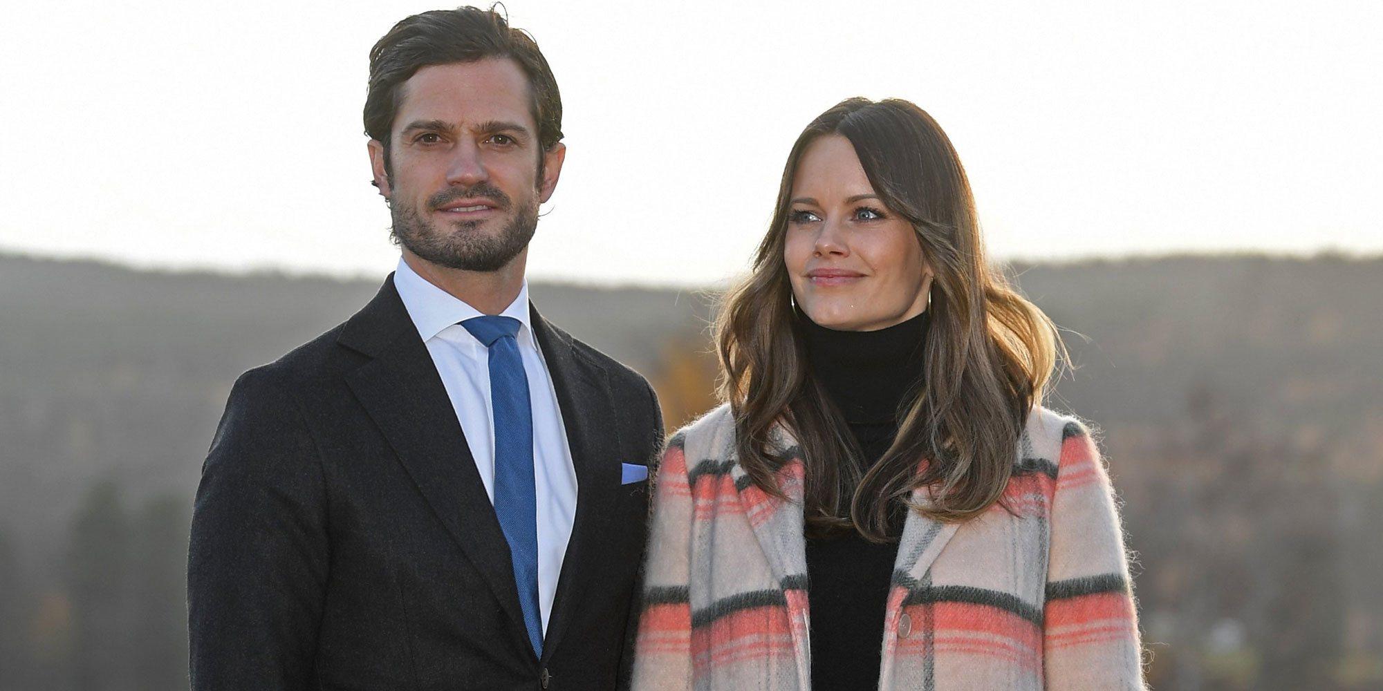 Carlos Felipe y Sofia de Suecia, padres de su tercer hijo