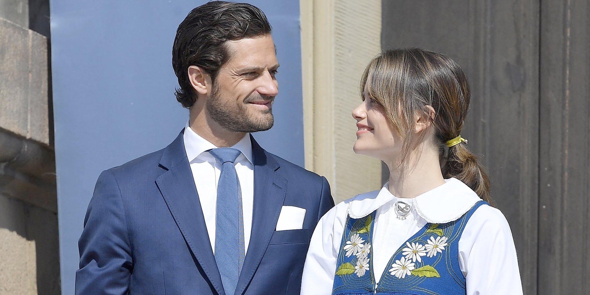 Sofia de Suecia muestra las primeras imágenes de sus tres hijos con guiño a Carlos Felipe de Suecia