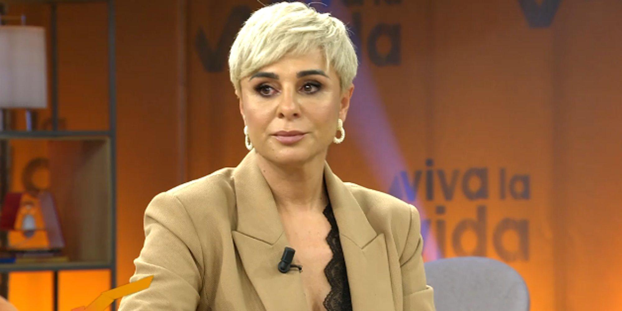 """La complicada tarde de Ana María Aldón en 'Viva la vida': """"Me parece brutal, cuesta mucho trabajo"""""""