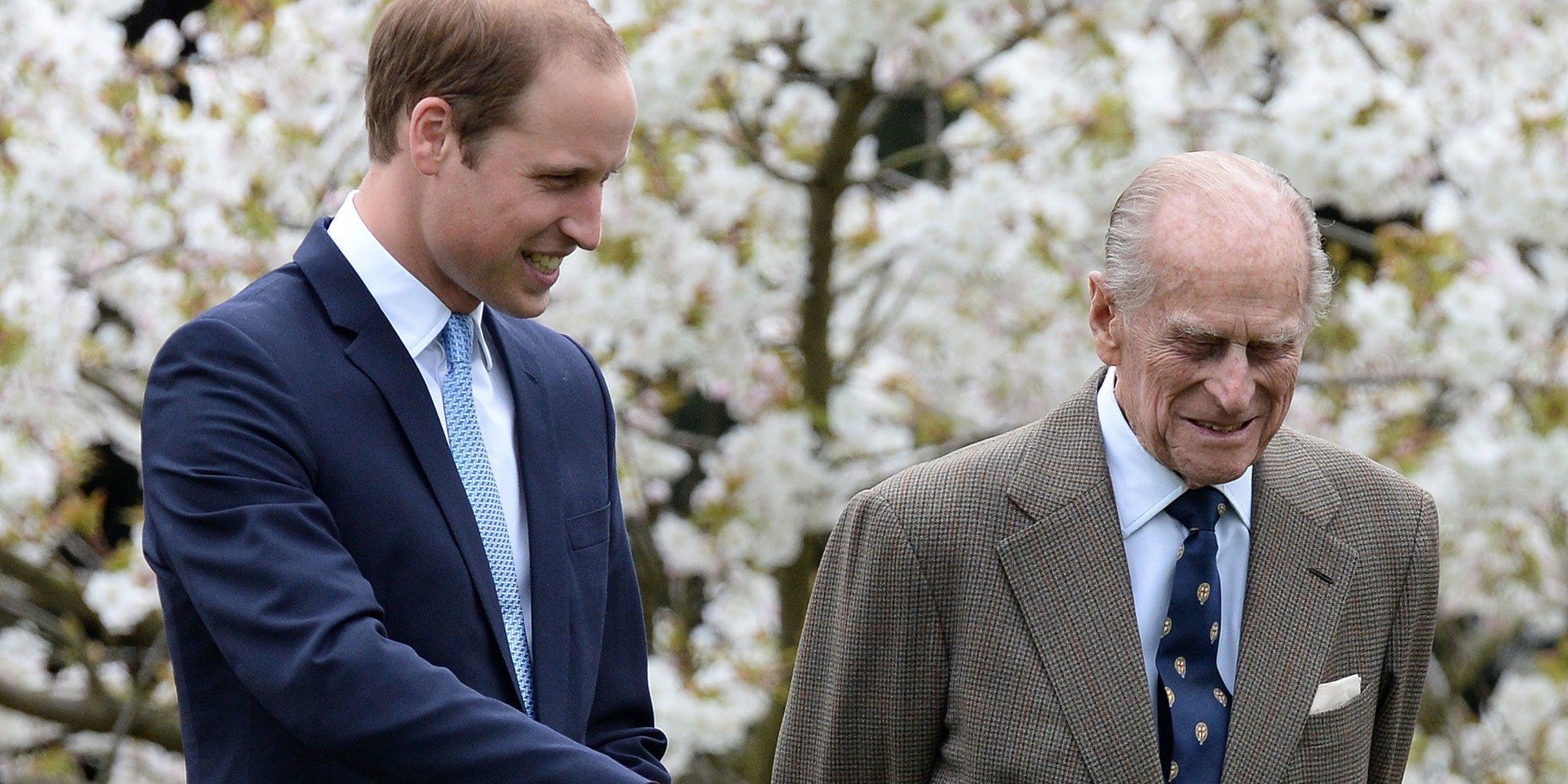 El homenaje del Príncipe Guillermo al Duque de Edimburgo: emotivo mensaje y foto con el Príncipe Jorge