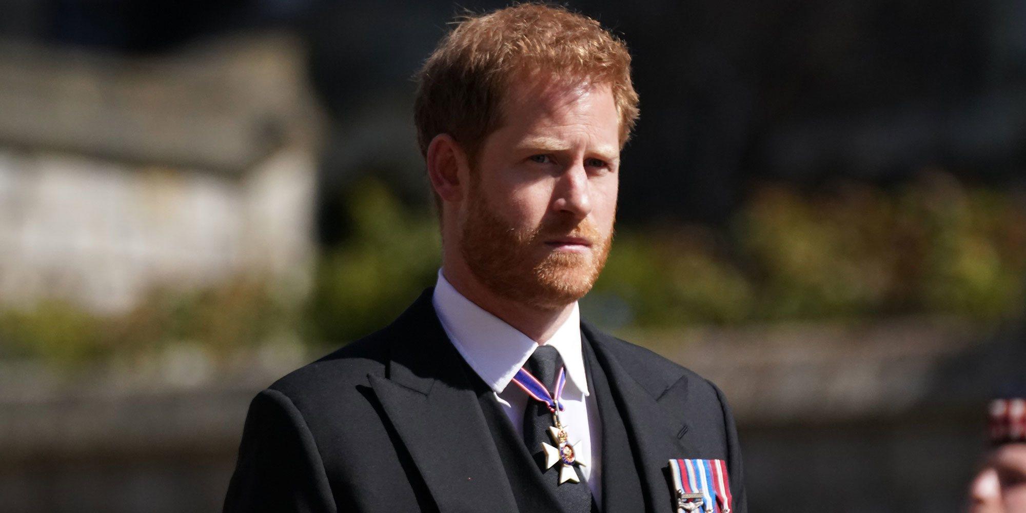 El gesto del Príncipe Harry con la Reina Isabel tras el funeral del Duque de Edimburgo
