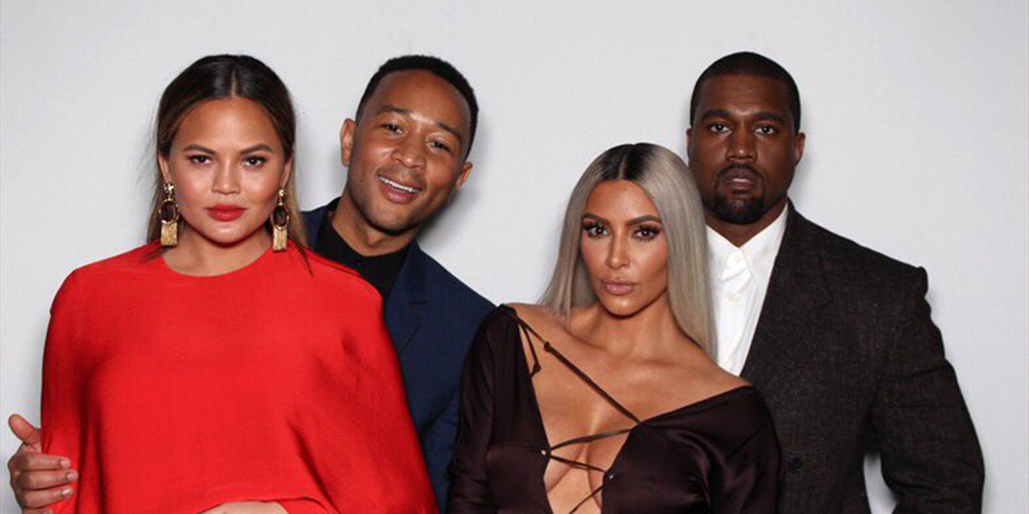 """Chrissy Teigen, sobre el divorcio de Kim Kardashian y Kanye West: """"Kim lo  dio todo"""" - Bekia Actualidad"""