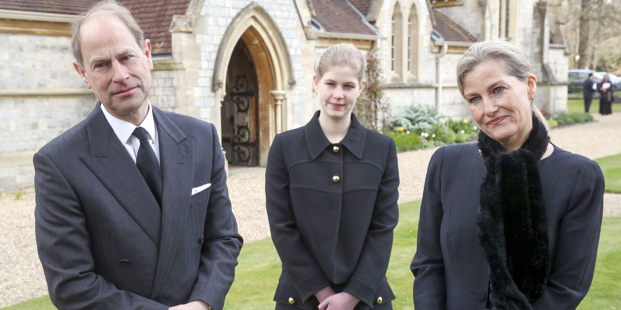 Lo que la muerte del Duque de Edimburgo ha supuesto para el Príncipe Eduardo y Sophie de Wessex y sus hijos