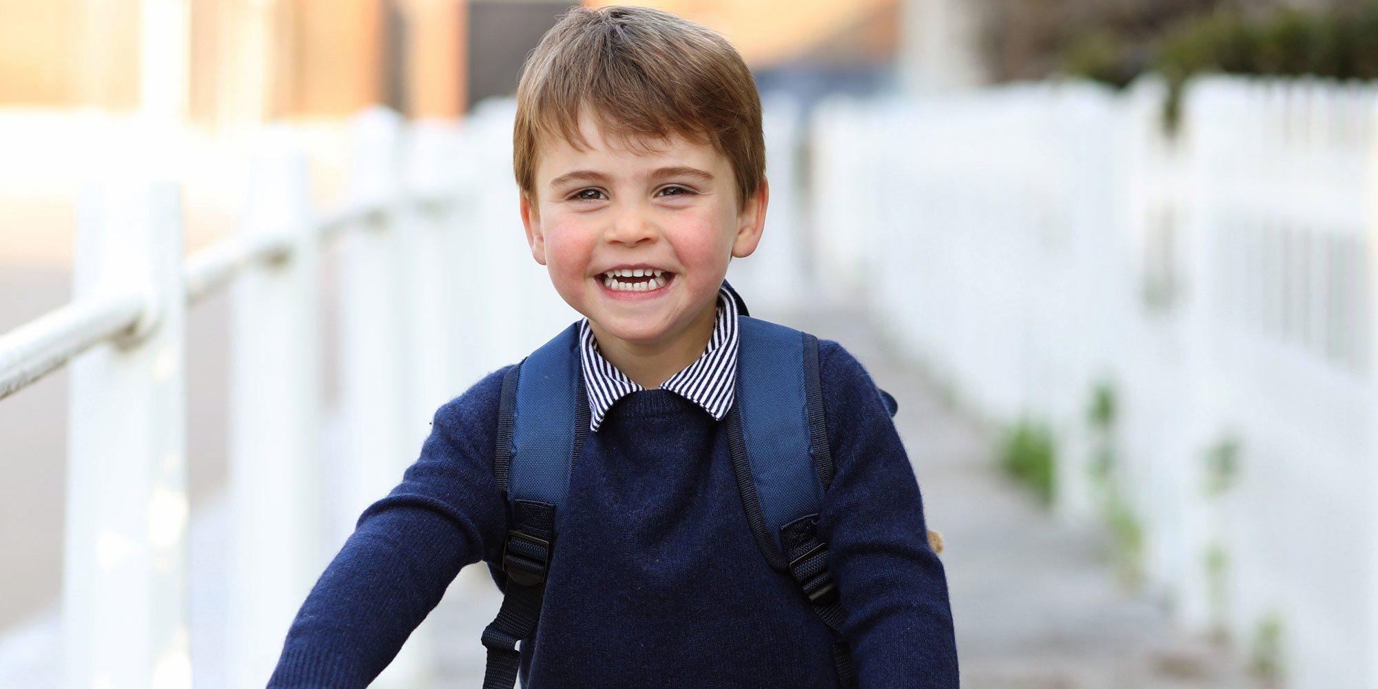 La celebración de los 3 años del Príncipe Luis: sonrisas, una bici y el primer día en la escuela infantil