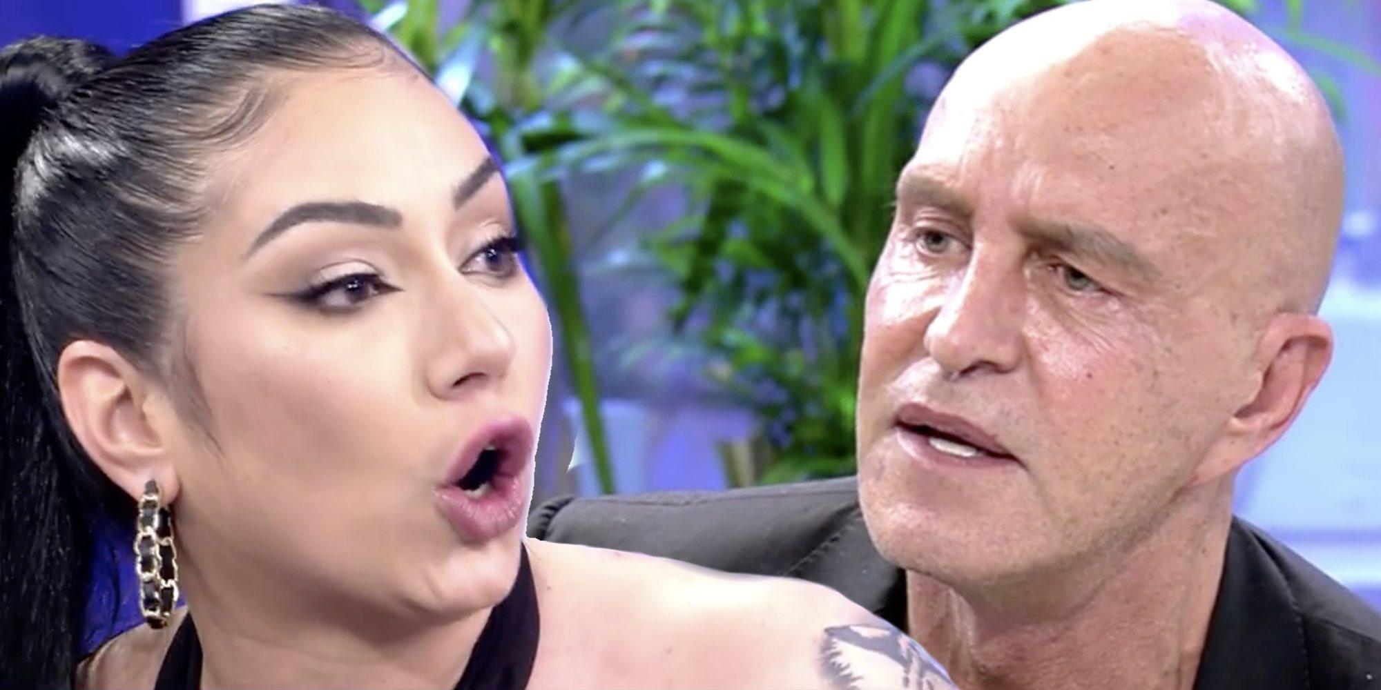 Kiko Matamoros abandona el plató de 'Sábado Deluxe' tras un enfrentamiento con Dakota Tárraga