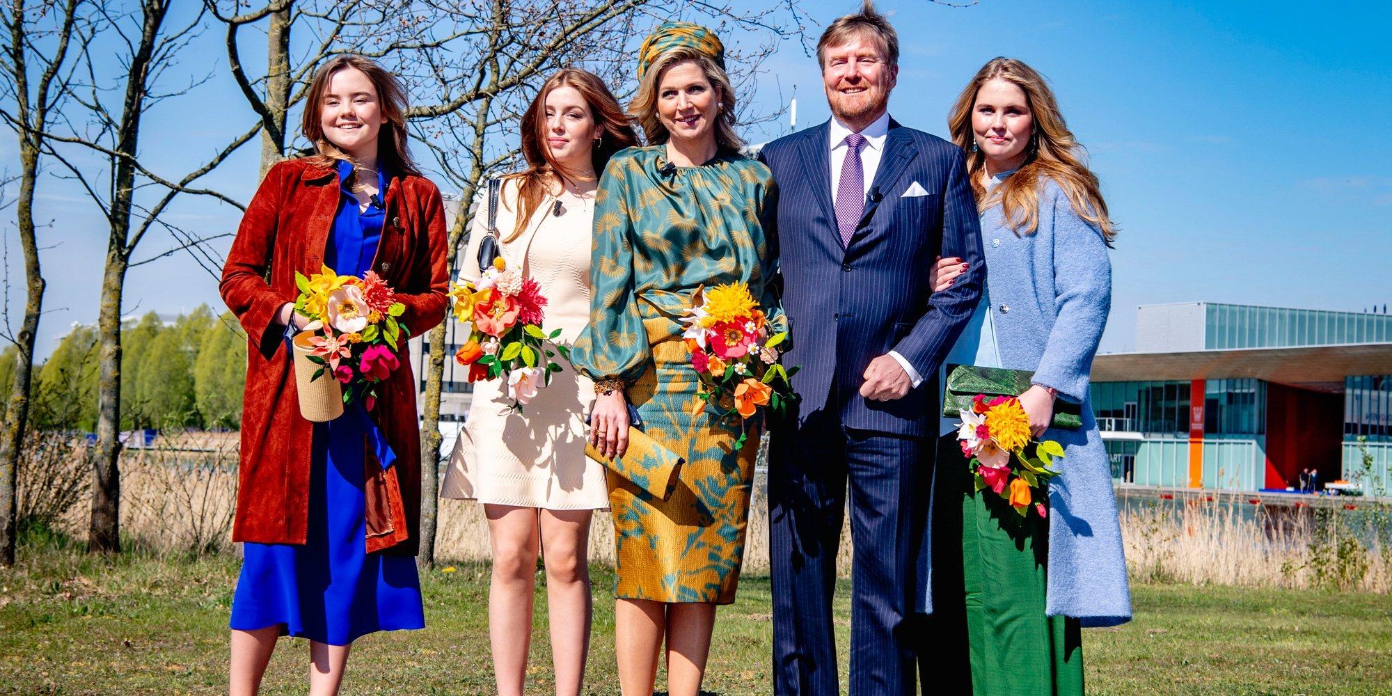 La Familia Real Holandesa celebra el Día del Rey 2021: posados, viaje a Eindhoven y un coche con la edad del Monarca