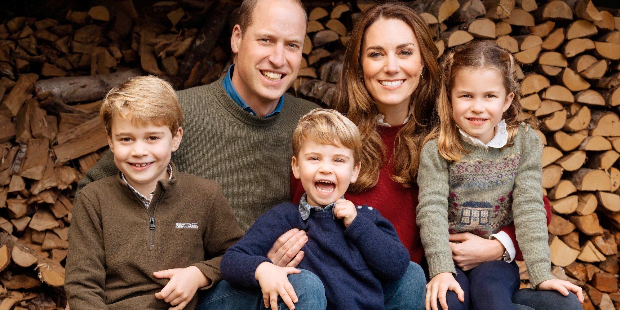 El emotivo vídeo del Príncipe Guillermo y Kate Middleton con sus hijos Jorge, Carlota y Luis para celebrar su aniversario