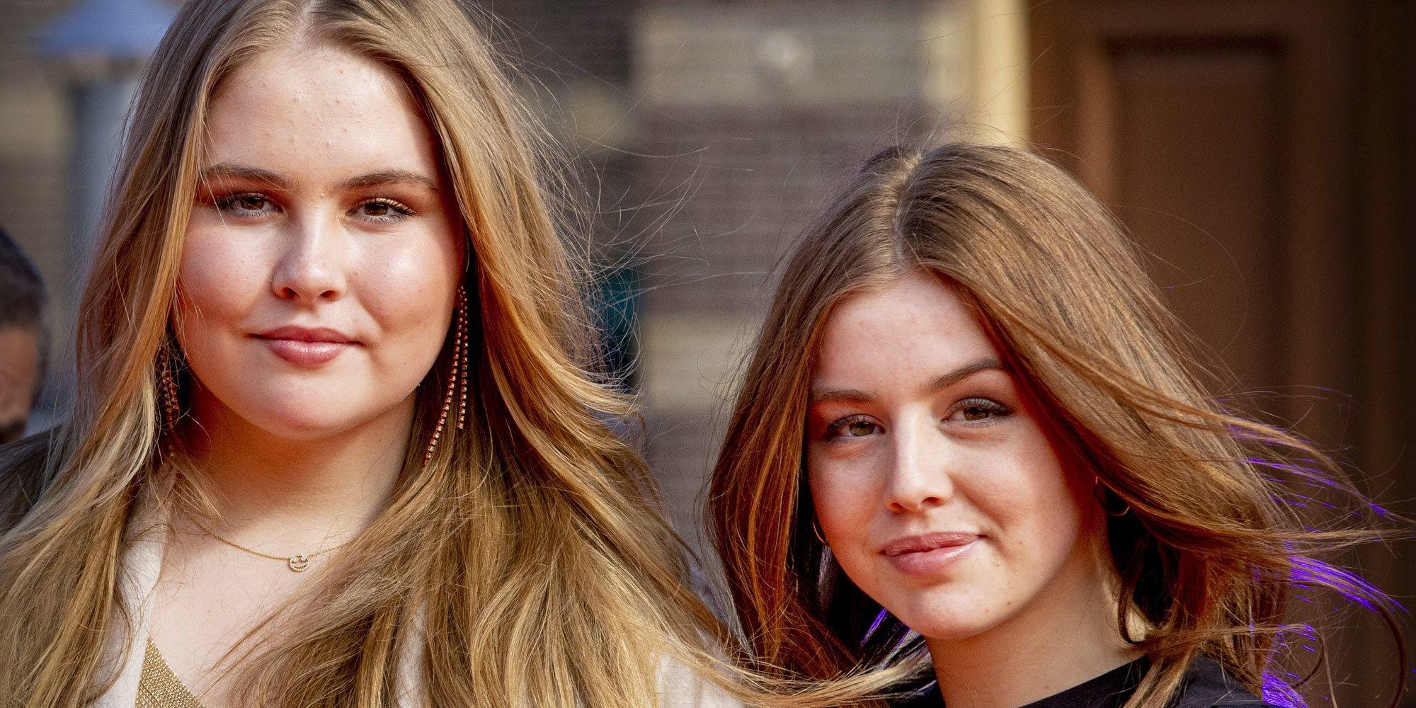 Amalia de Holanda y Alexia de Holanda hablan de sus planes de futuro