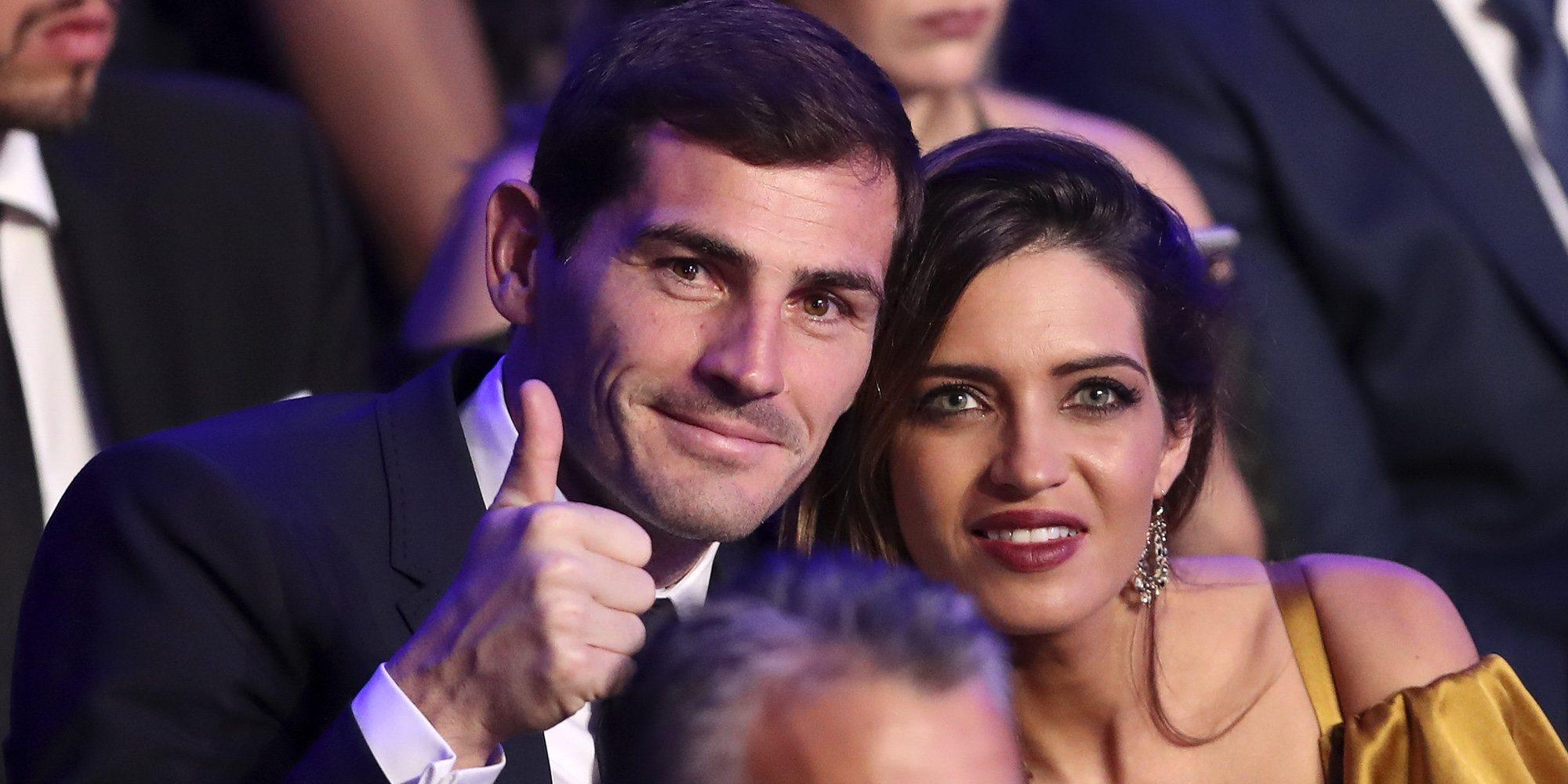 Sara Carbonero, cariñosa con Iker Casillas dos años después de su infarto