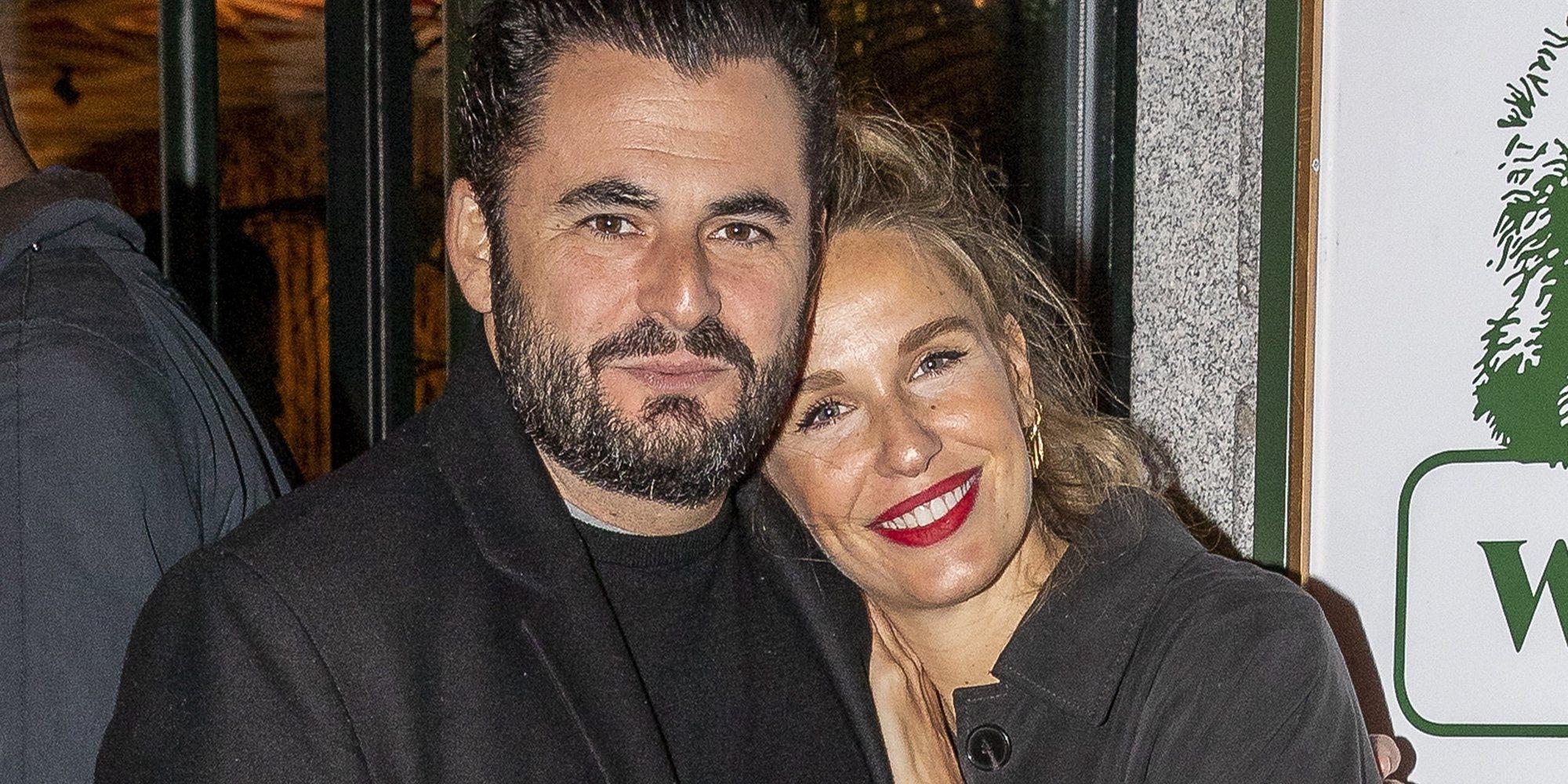Carola Baleztena y Emiliano Suárez, padres de su primera hija en común