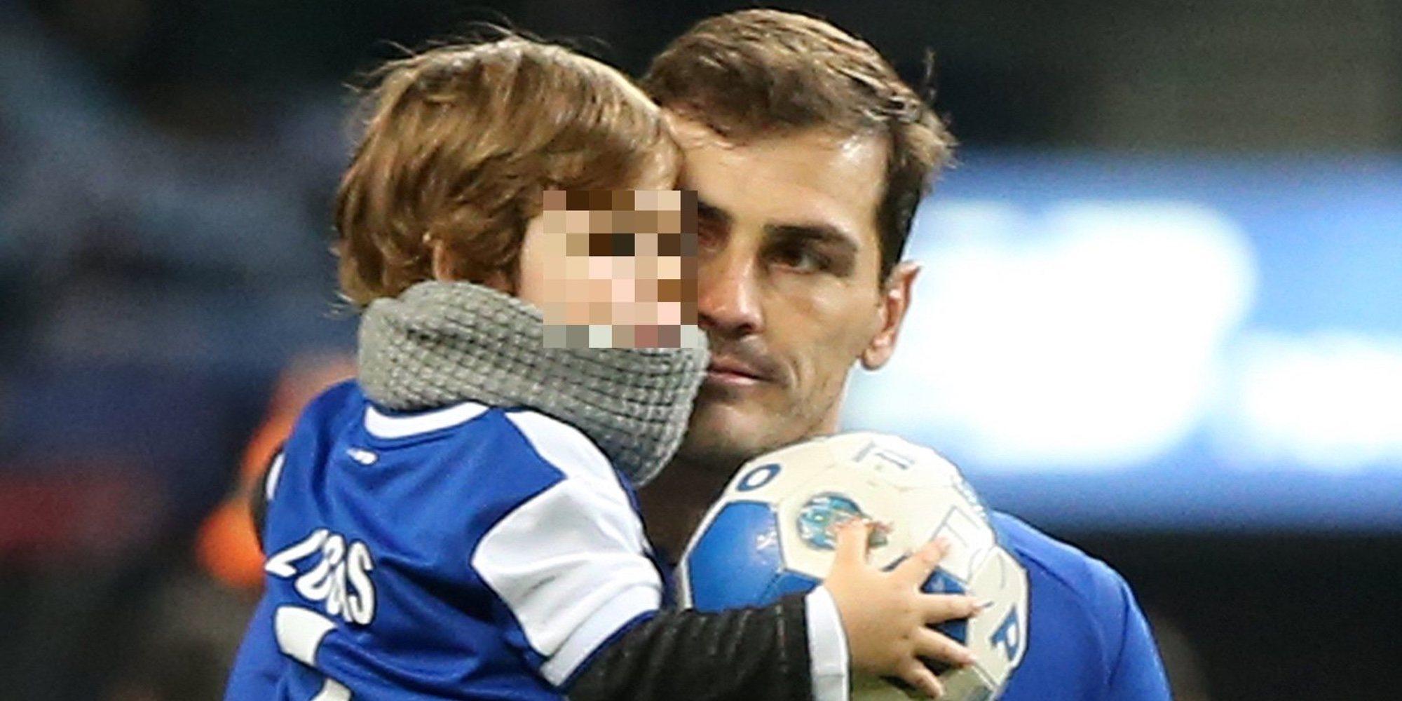 """Iker Casillas cuenta que uno de sus hijos puede que siga sus pasos: """"Le apoyaré"""""""