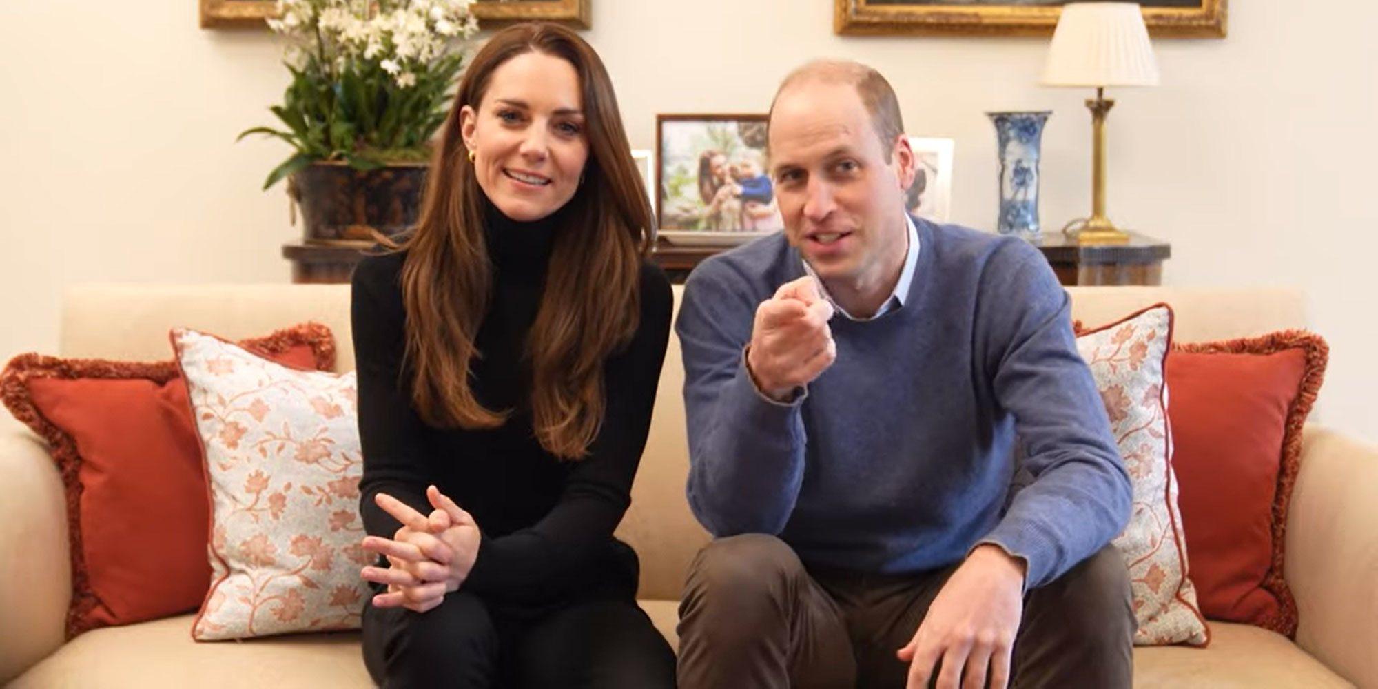 """El divertido vídeo del Príncipe Guillermo y Kate Middleton con el que estrenan canal de Youtube: """"Más vale tarde que nunca"""""""