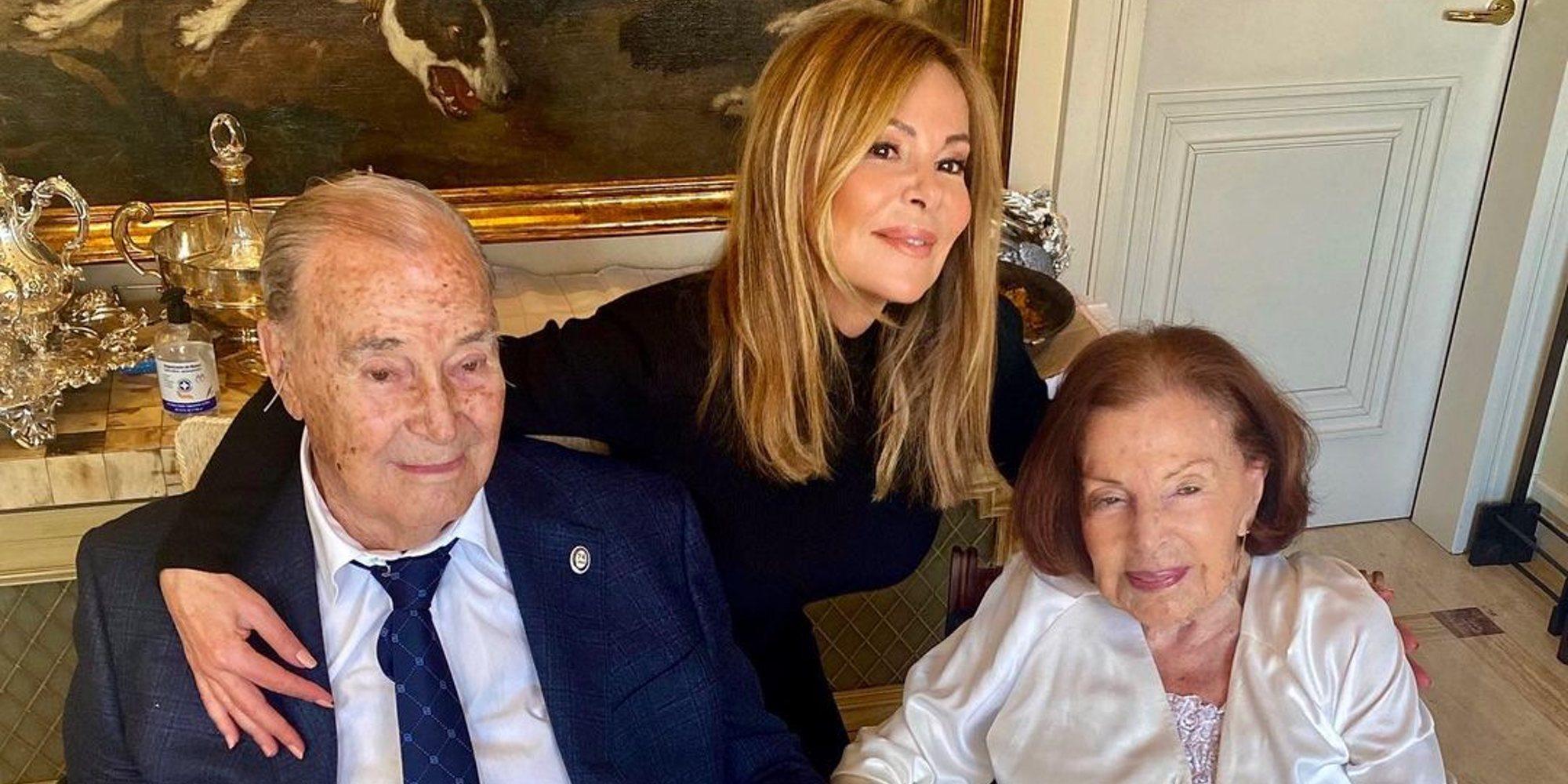 Muere la madre de Ana Obregón