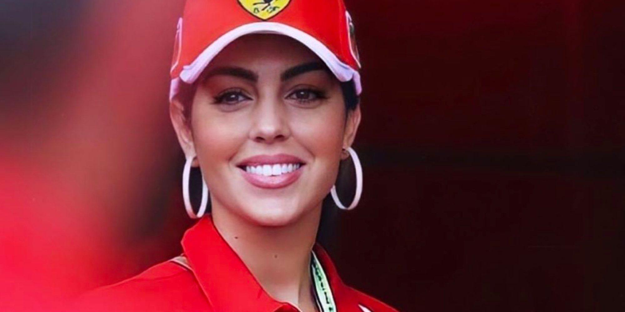 Georgina Rodríguez disfruta con sus hijos del Gran Premio de Montecarlo